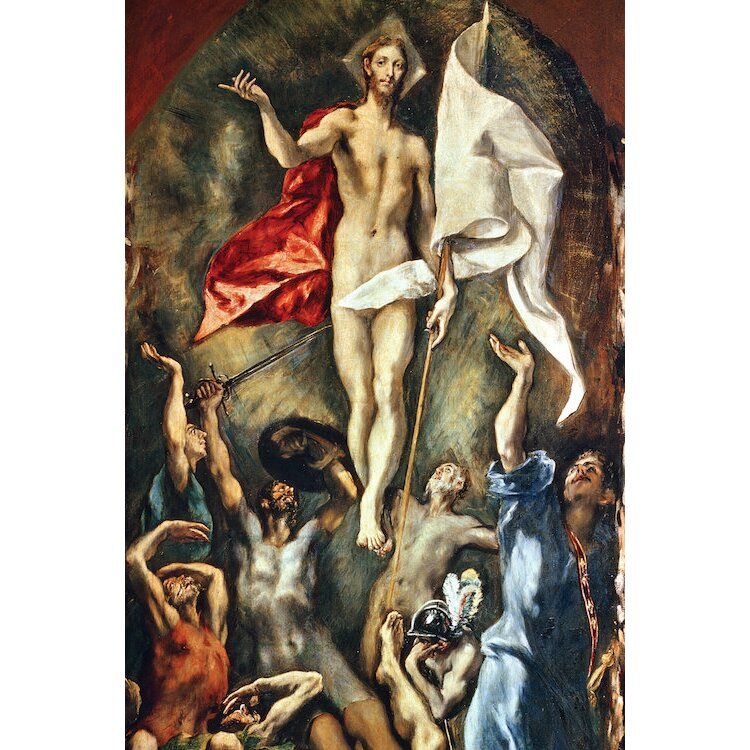 Image result for el greco painting the resurrection