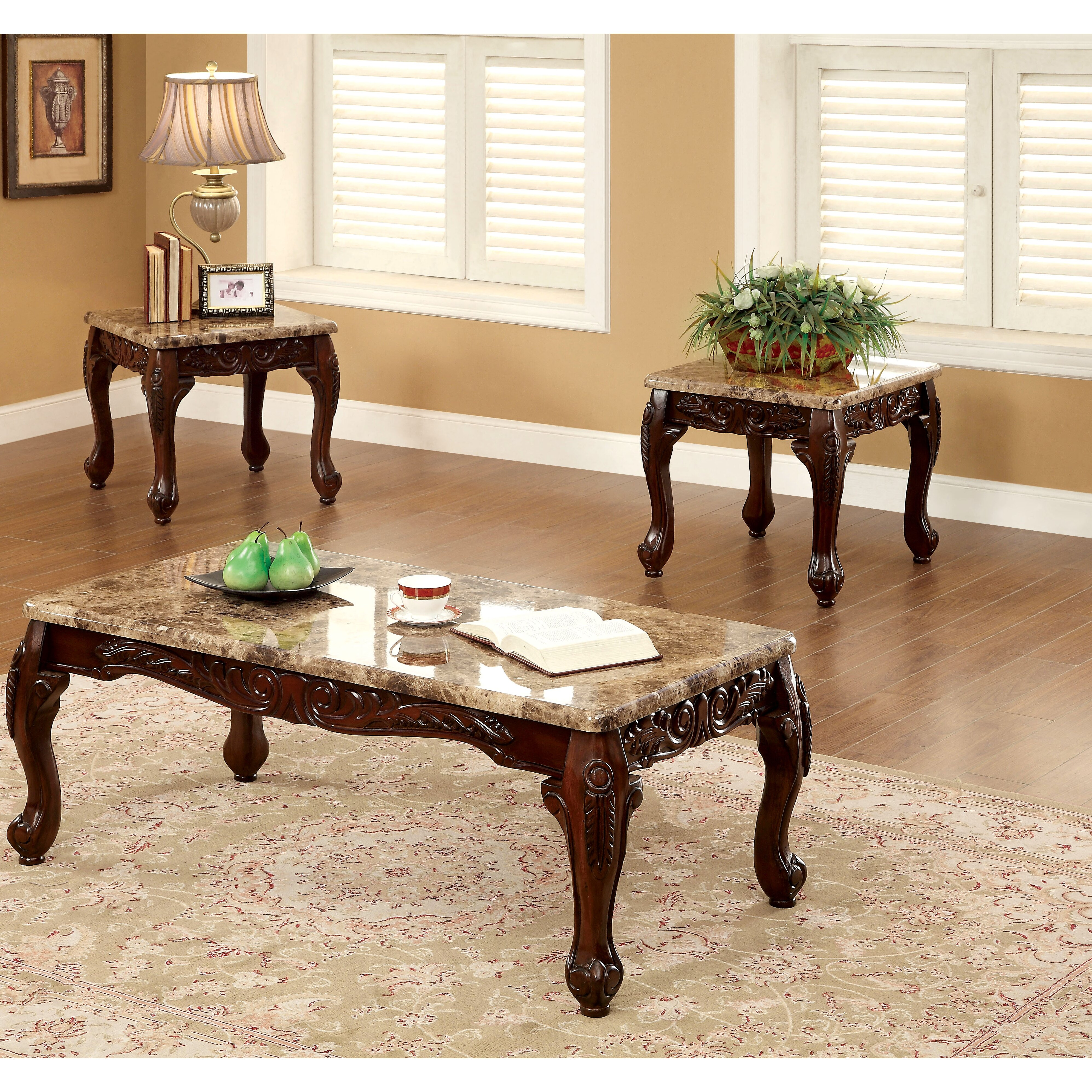3 Piece Living Room Table Set Astoria Grand Albertus 3 Piece Coffee Table Set Reviews Wayfair