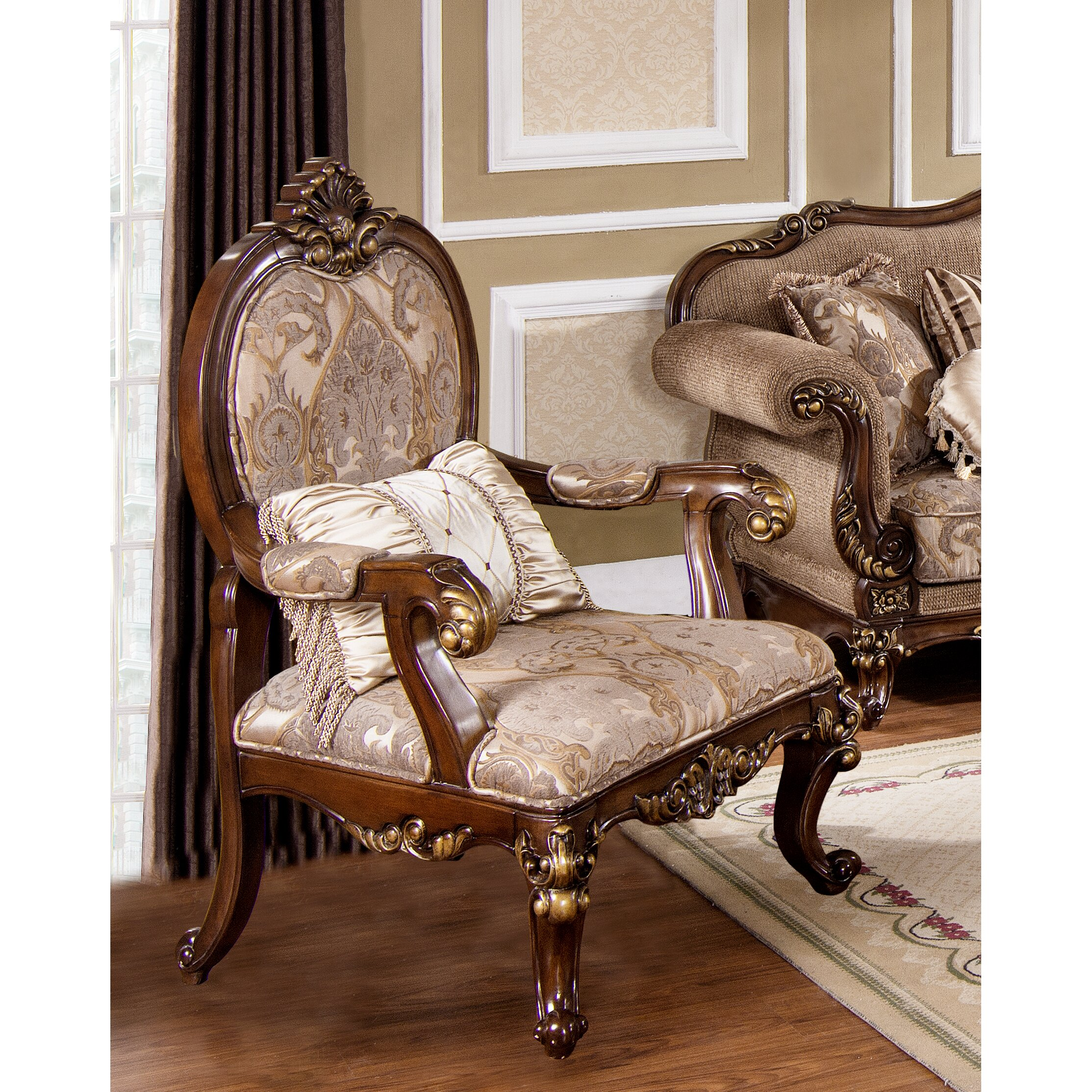 Traditional Chairs For Living Room Astoria Grand Fontainbleau Traditional Living Room Arm Chair