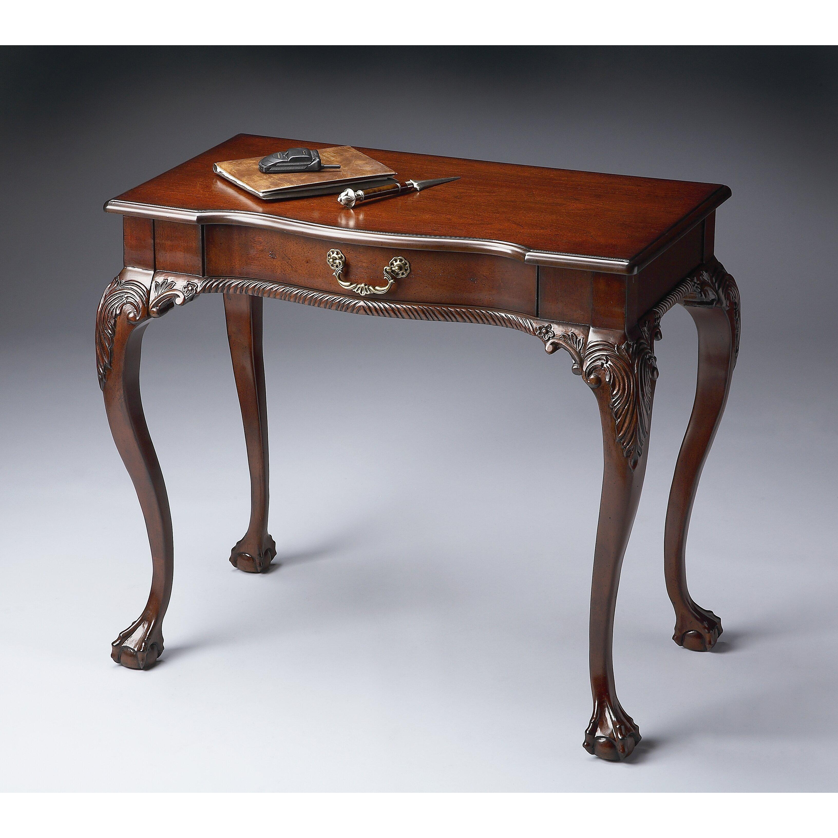 Astoria Grand Allsopp Cherry Writing Desk Amp Reviews Wayfair