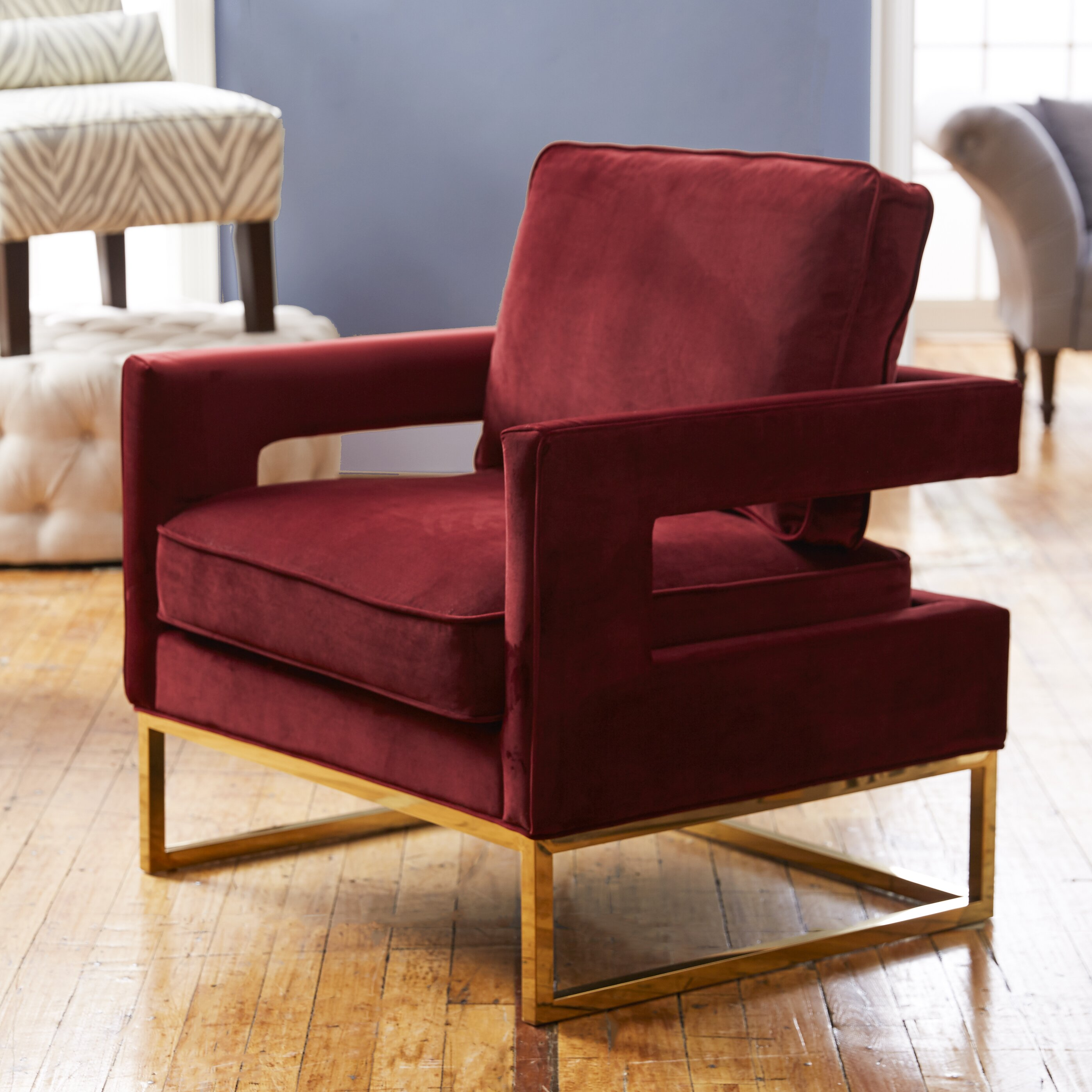 Awesome Gold Accent Chair Beautiful
