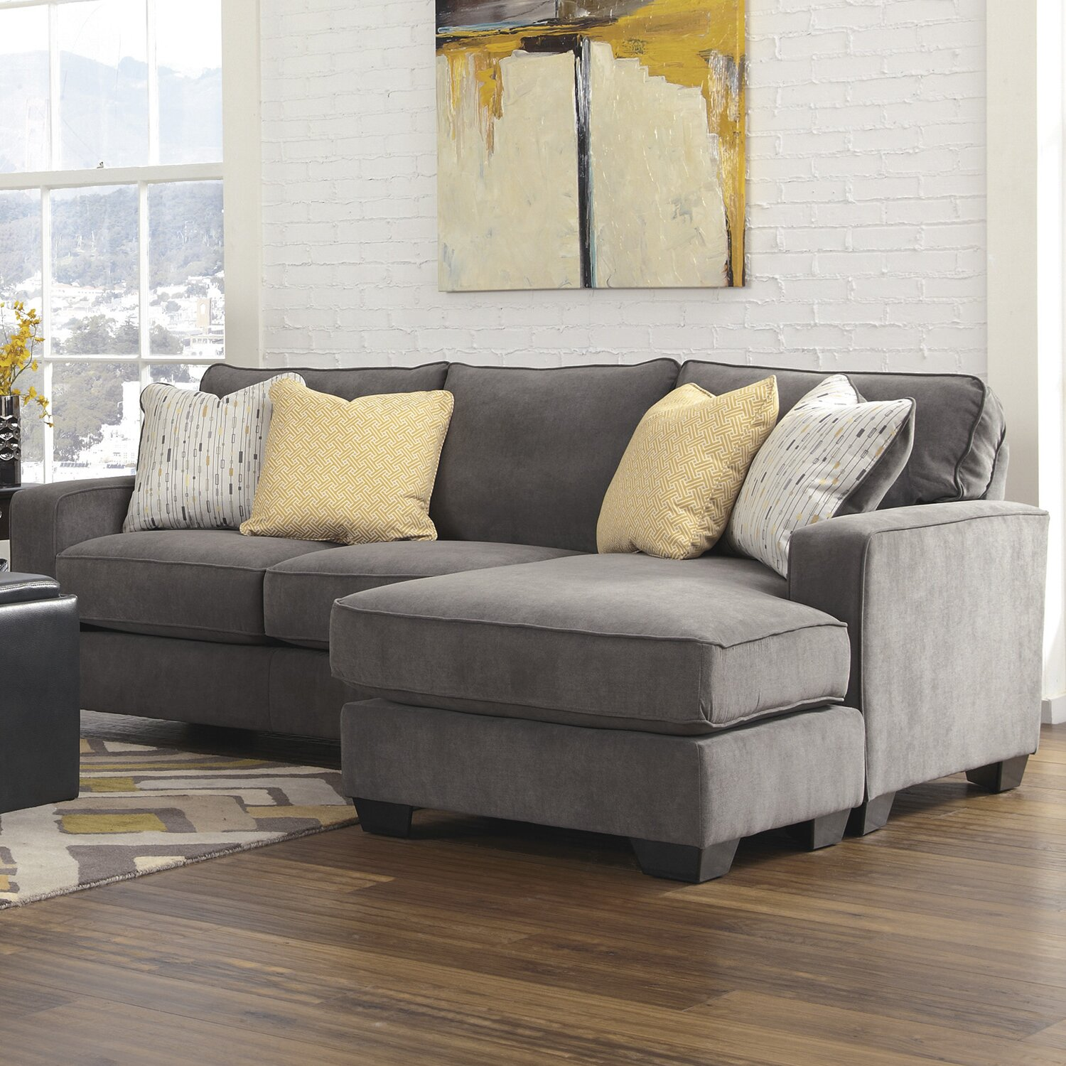 Mercer41 Kessel Reversible Chaise Sectional & Reviews