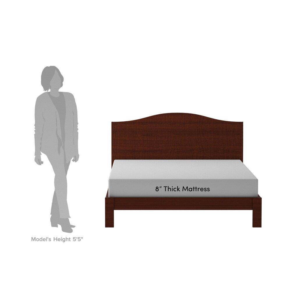 "Top Rated Memory Foam Mattress Wayfair Sleep Wayfair Sleep 8"" Memory Foam Mattress ..."