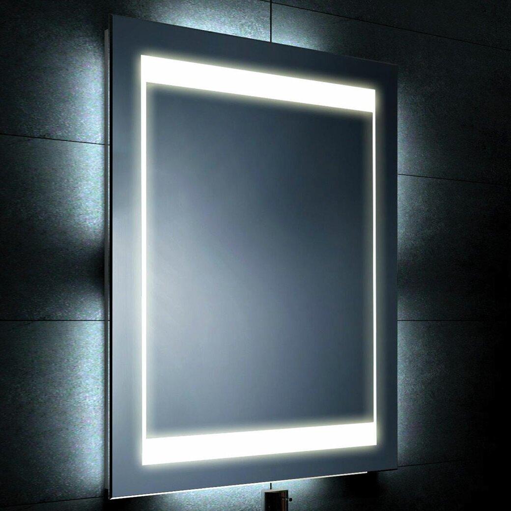 Demister Bathroom Mirrors Belfry Bathroom Illuminated Mirror With Demister Bathroom Mirror