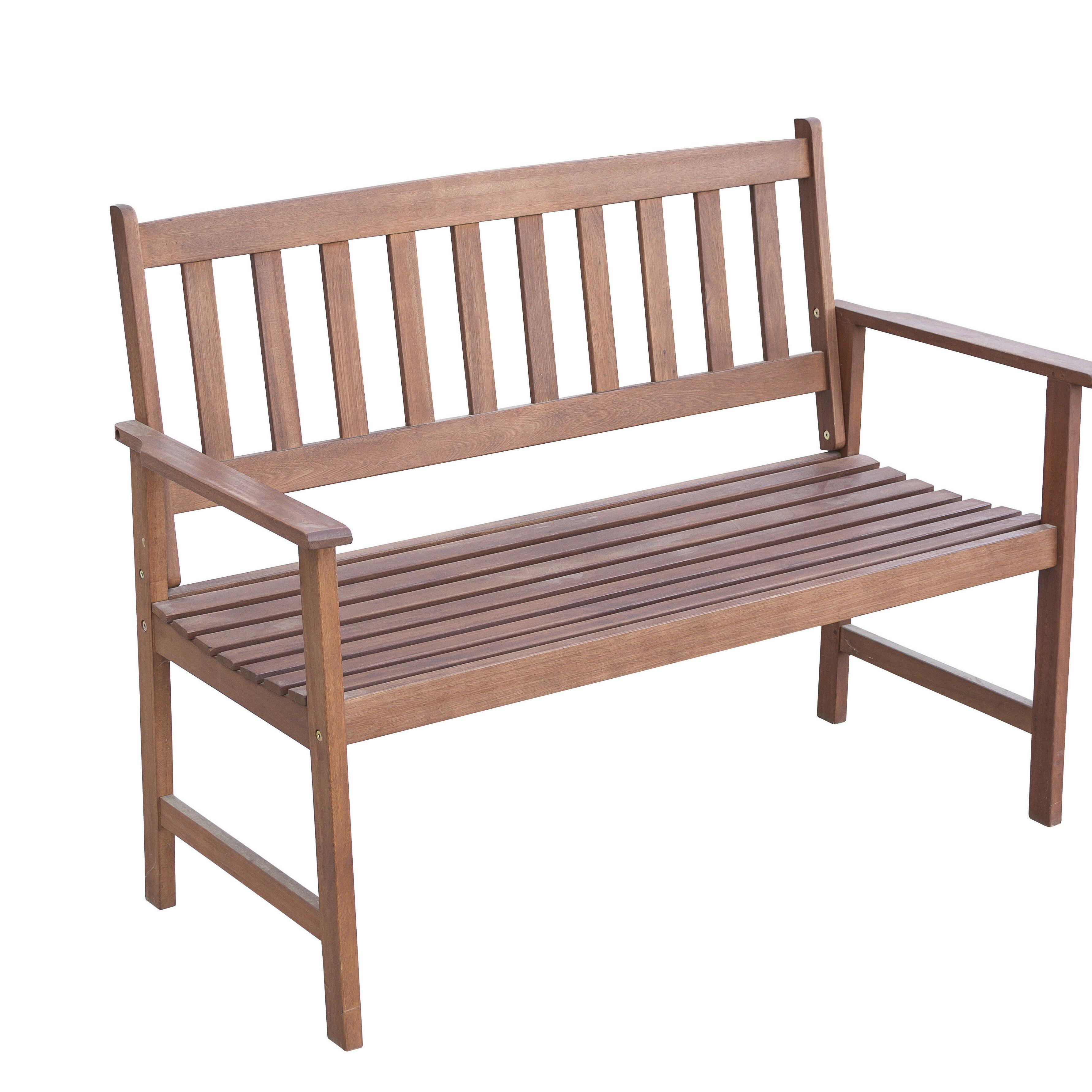 m hlenhaus 2 sitzer gartenbank newbury aus holz bewertungen. Black Bedroom Furniture Sets. Home Design Ideas