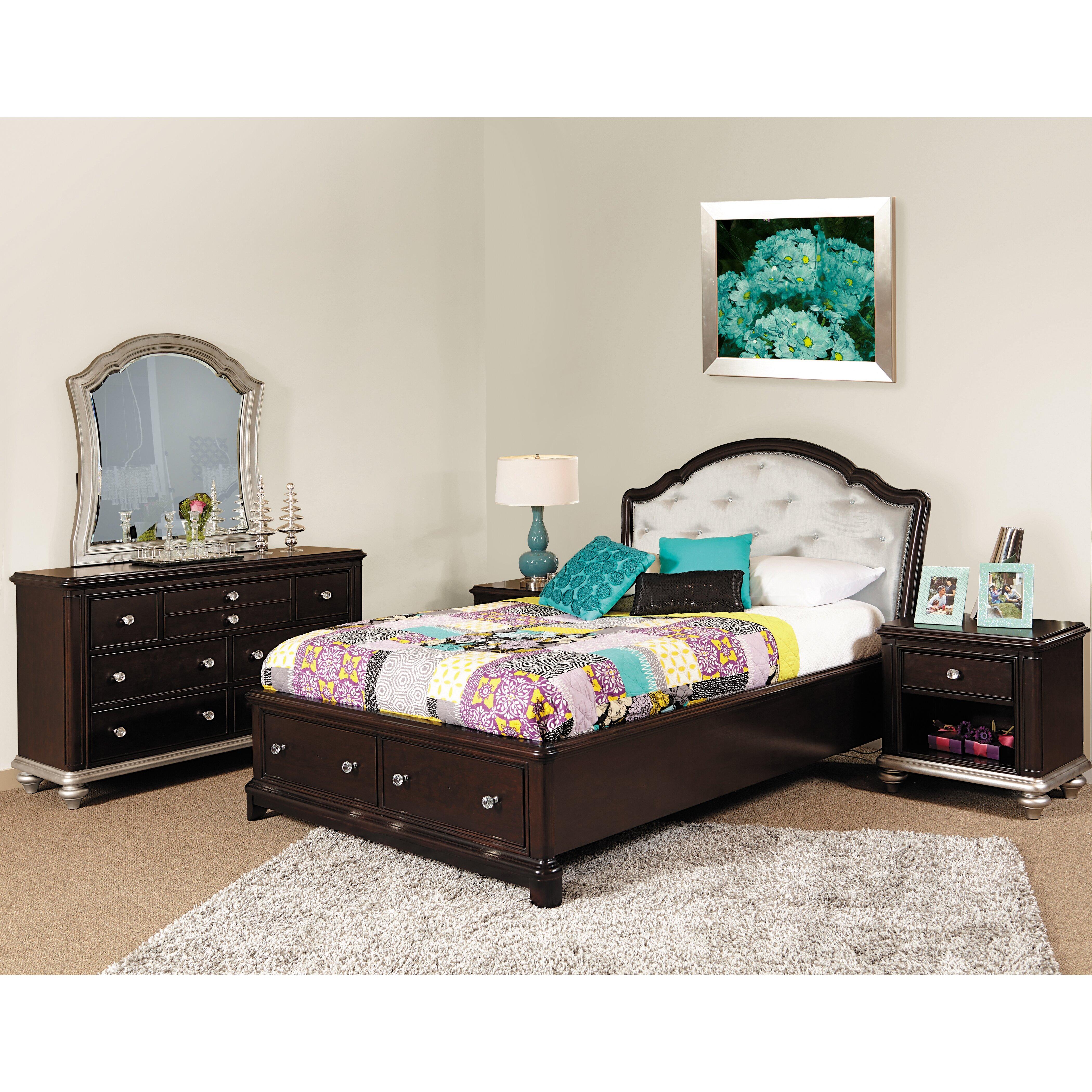 Glam Bedroom Design Photo By Wayfair: Samuel Lawrence Girls' Glam Panel Headboard & Reviews