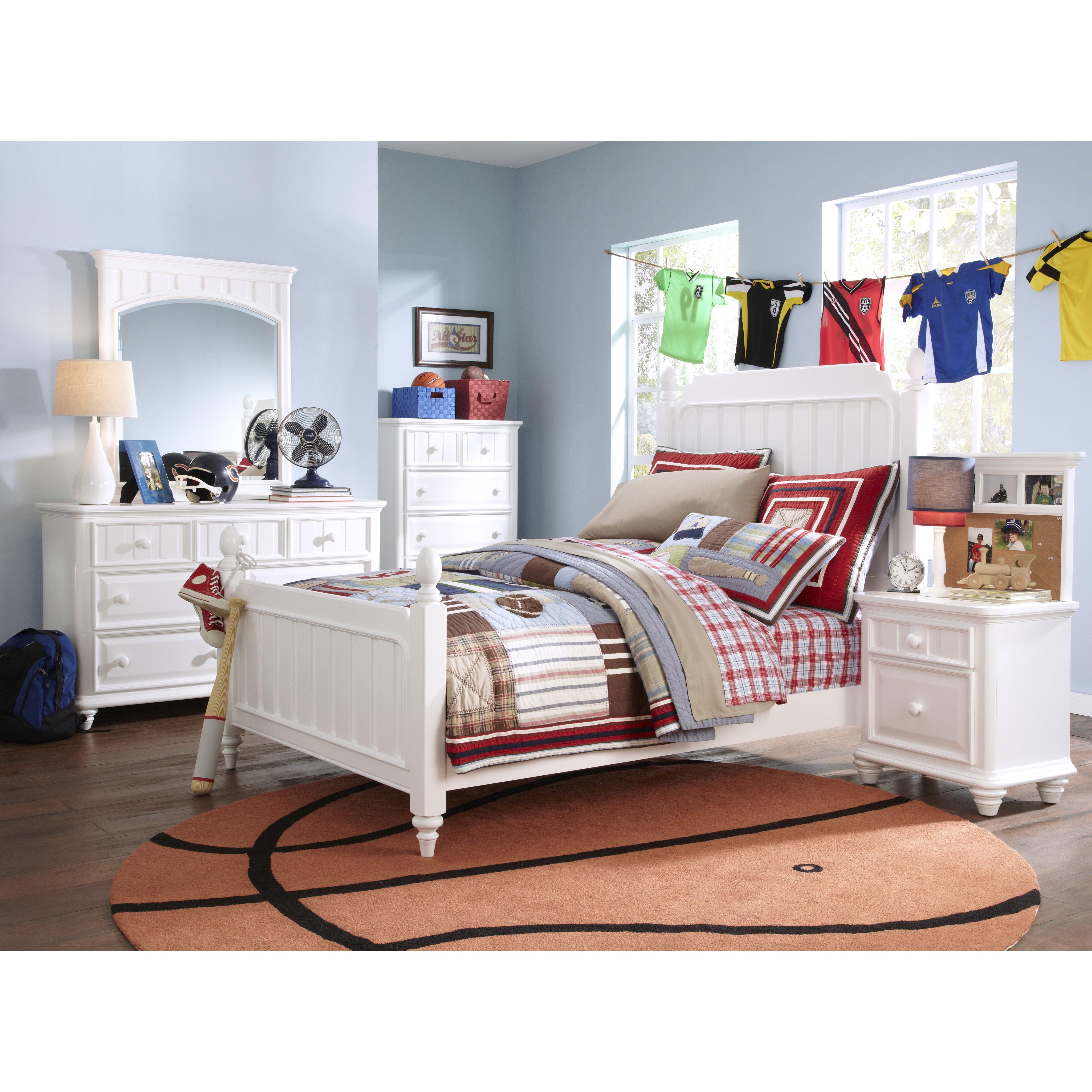 Samuel Lawrence Summer Time Panel Customizable Bedroom Set