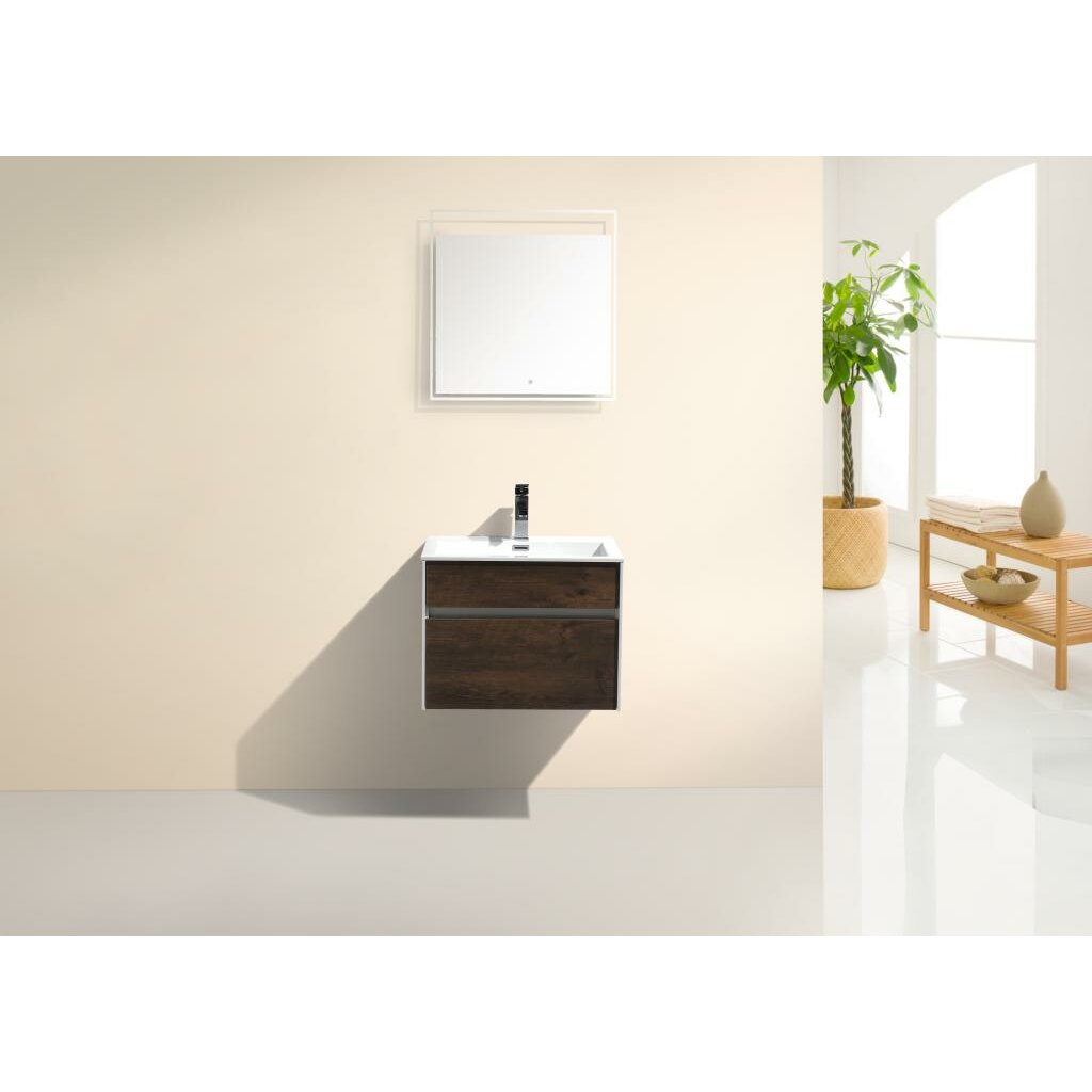 Bathroom Single Vanity Kube Bath Fitto 24 Single Modern Bathroom Vanity Set Reviews