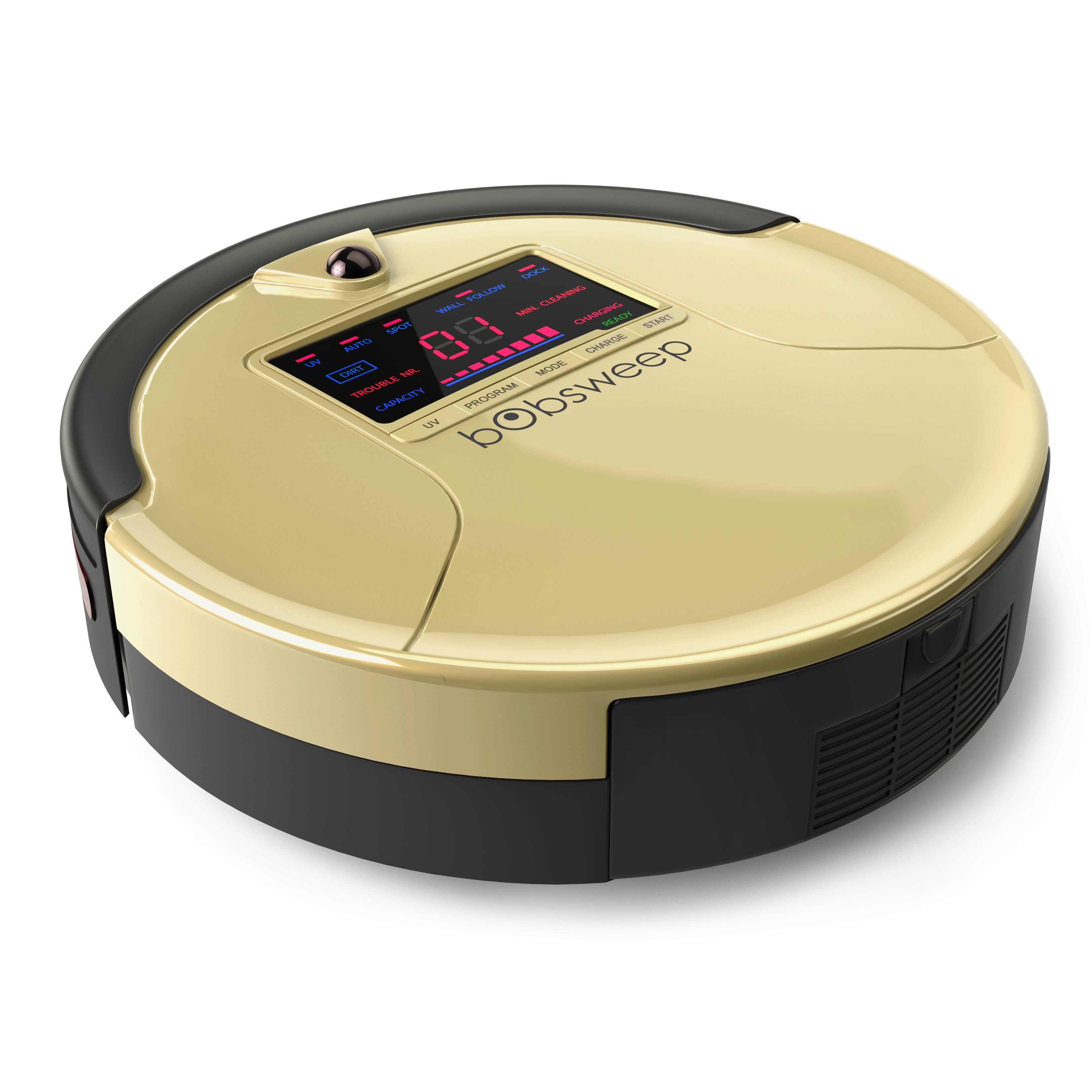 Bobsweep Pethair Robotic Vacuum Cleaner And Mop Amp Reviews