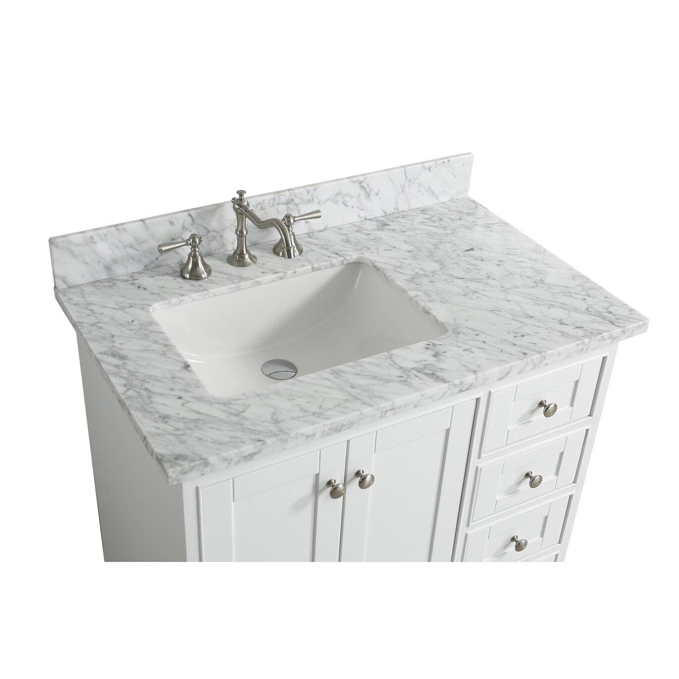 Bathroom Sink Material Urban Furnishings Jocelyn 36 Bathroom Sink Vanity Set With Mirror