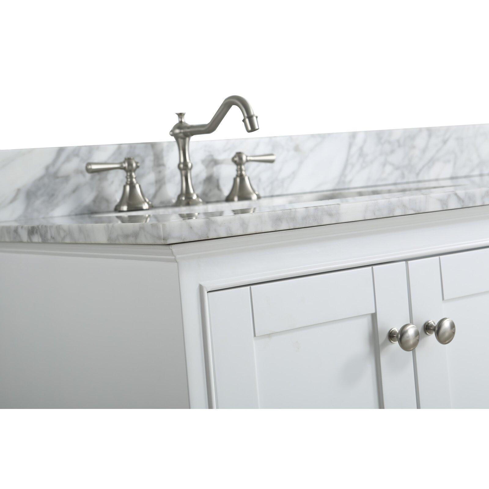 Bathroom Sink Material Urban Furnishings Jocelyn 60 Bathroom Sink Vanity Set With Mirror