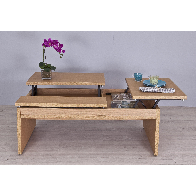 hokku designs cortland coffee table. Black Bedroom Furniture Sets. Home Design Ideas