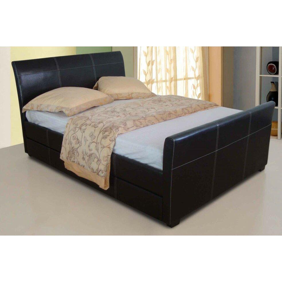 Home loft concept manar storage bed reviews for Concept beds