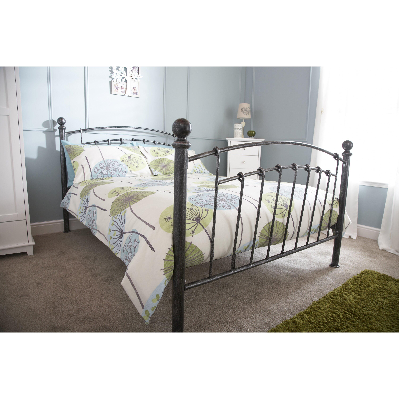 Home loft concept brielle bed frame reviews for Concept beds