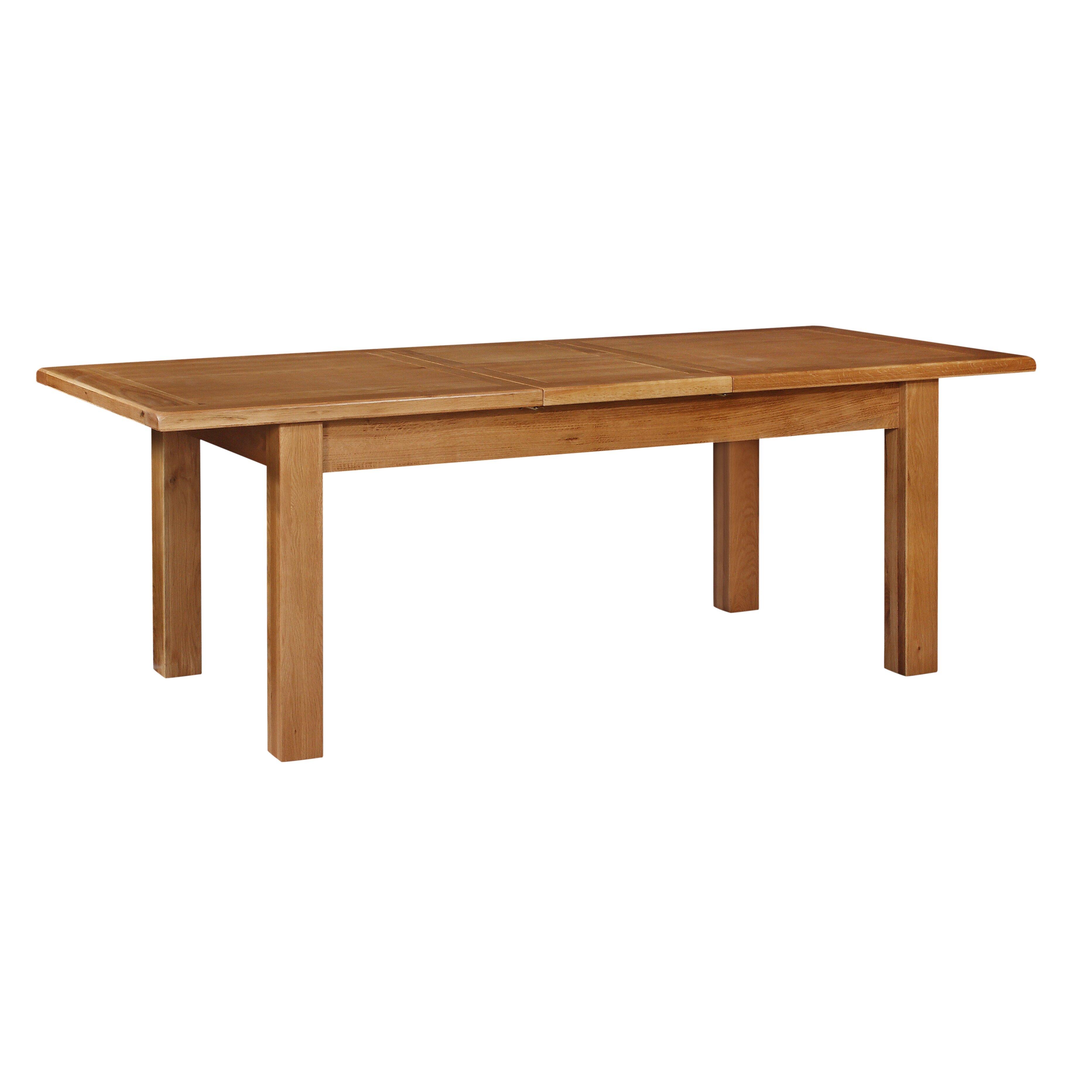 hazelwood home shanklin extension dining table wayfair uk