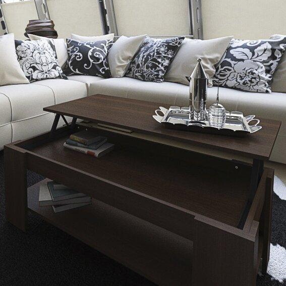 Wayfair Glass Coffee Table Uk: Hazelwood Home Katrin Coffee Table With Lift Top & Reviews