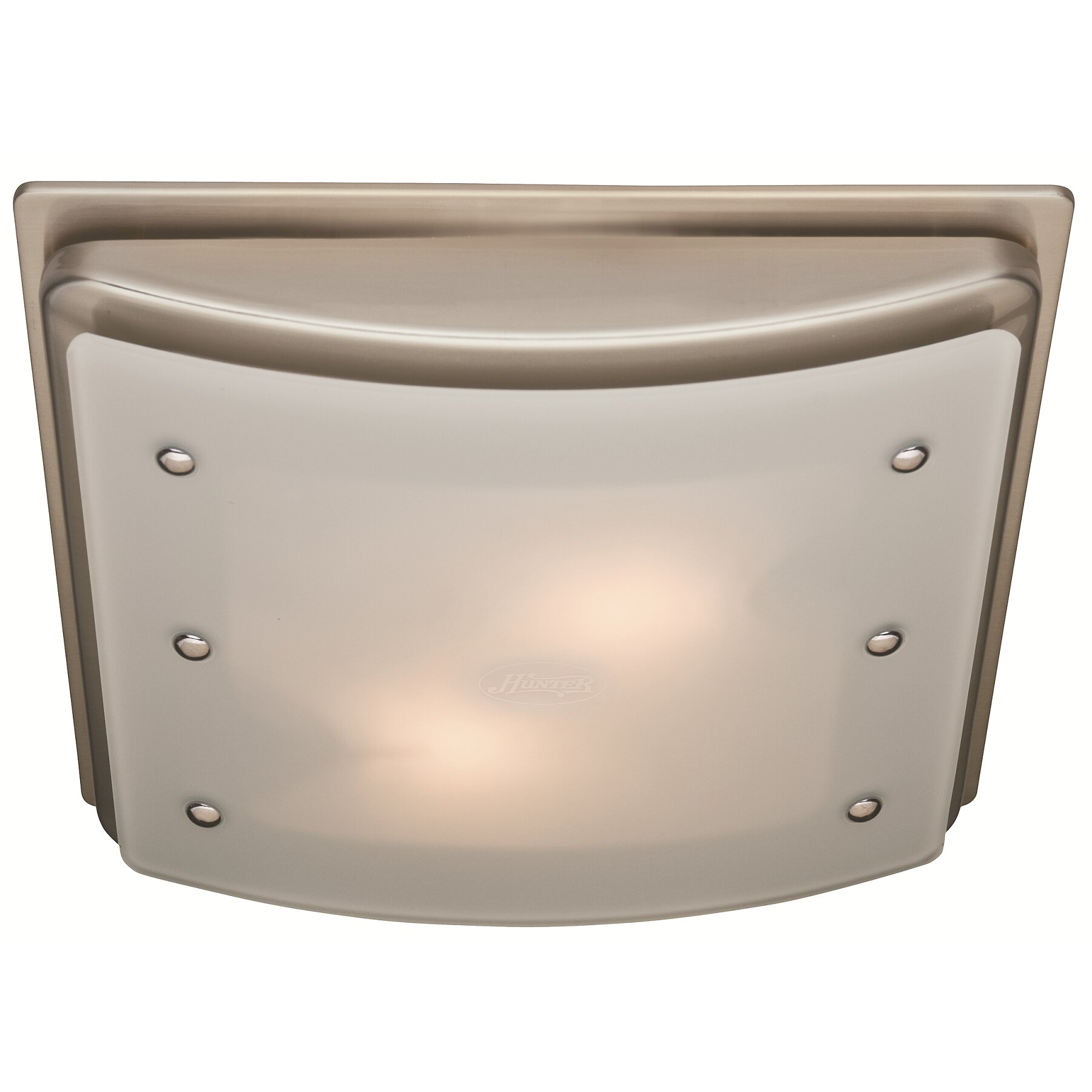 Bathroom Fans You'll Love | Wayfair:Ellipse 100 CFM Bathroom Fan with Light,Lighting