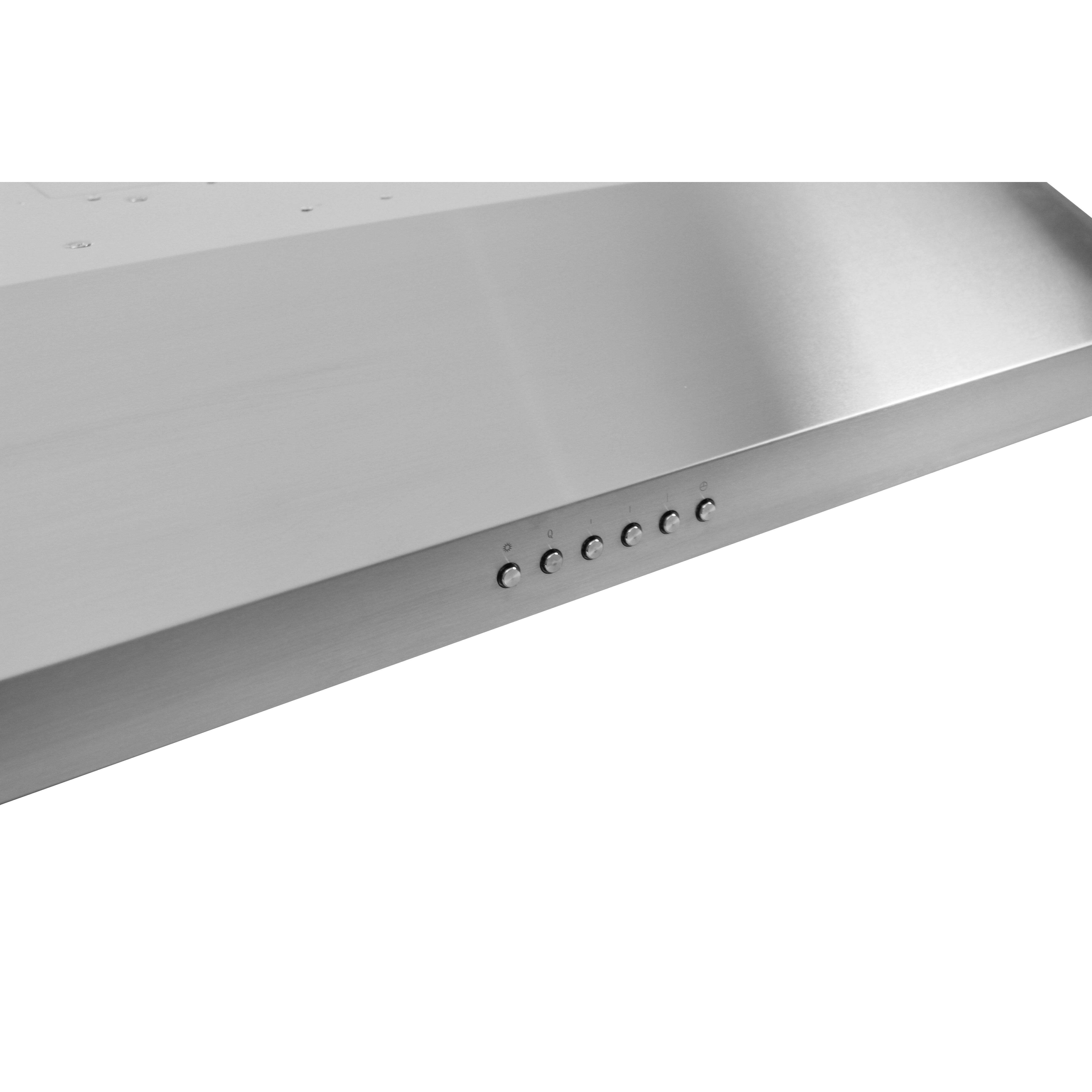 30 Under Cabinet Range Hood Proline Range Hoods 30 600 Cfm Ducted Under Cabinet Range Hood