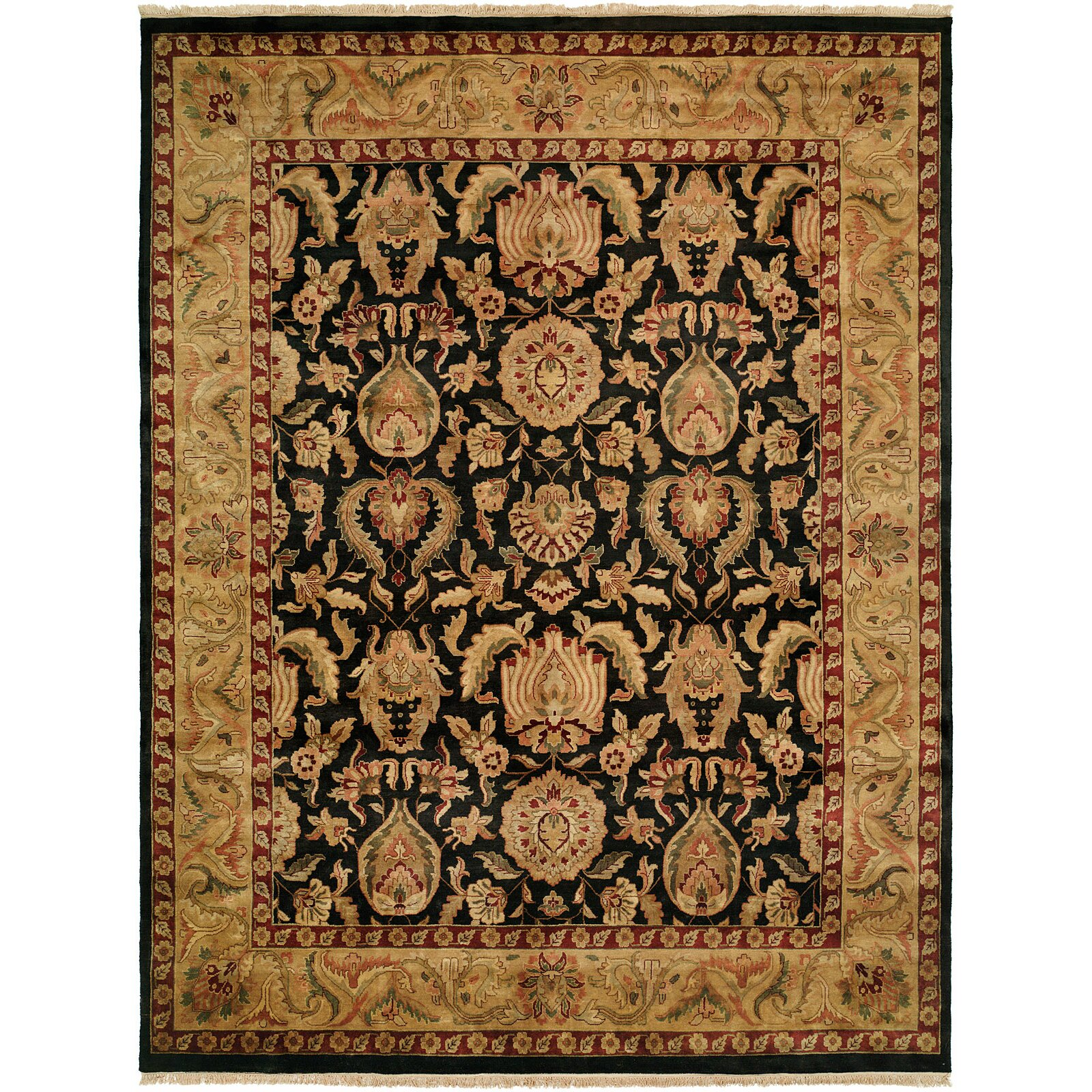 Black And Gold Area Rug Home Decor