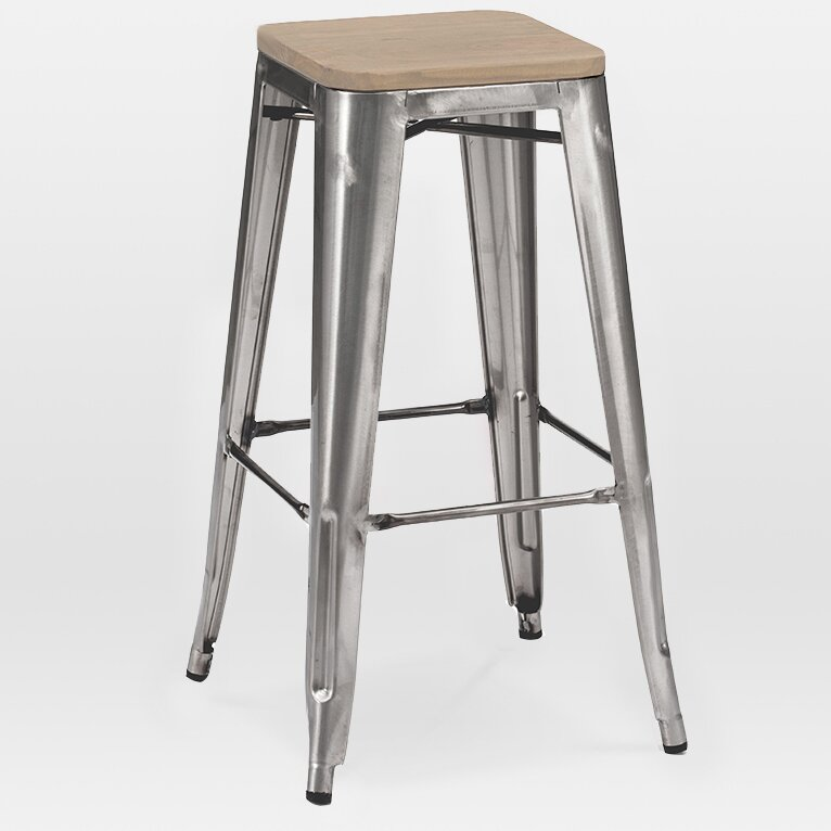 Design Lab Mn Dreux 30 Quot Bar Stool Wayfair Ca