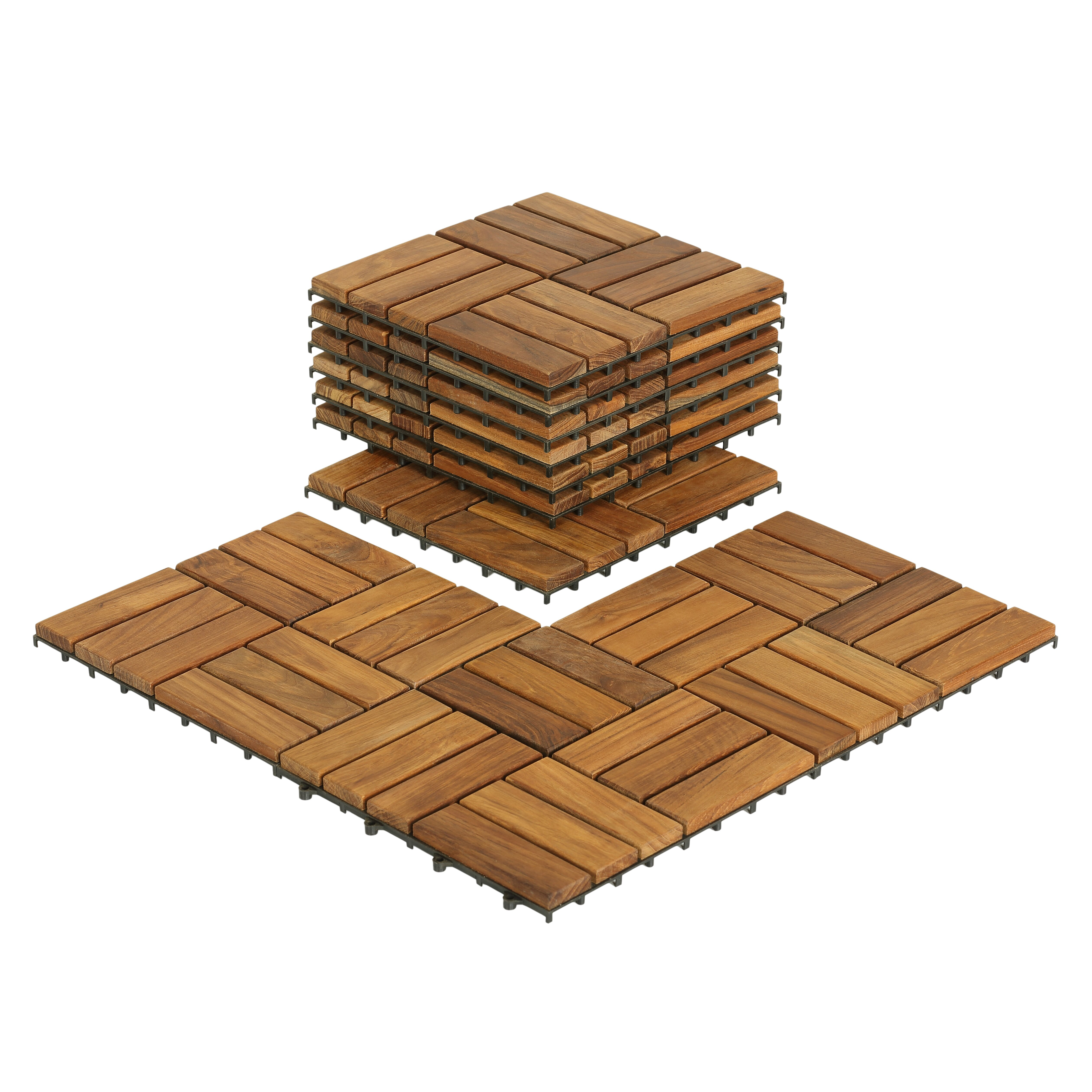 Interlocking Kitchen Floor Tiles Baredecor Ez Floor Wood 12 X 12 Interlocking Flooring Tile Trim