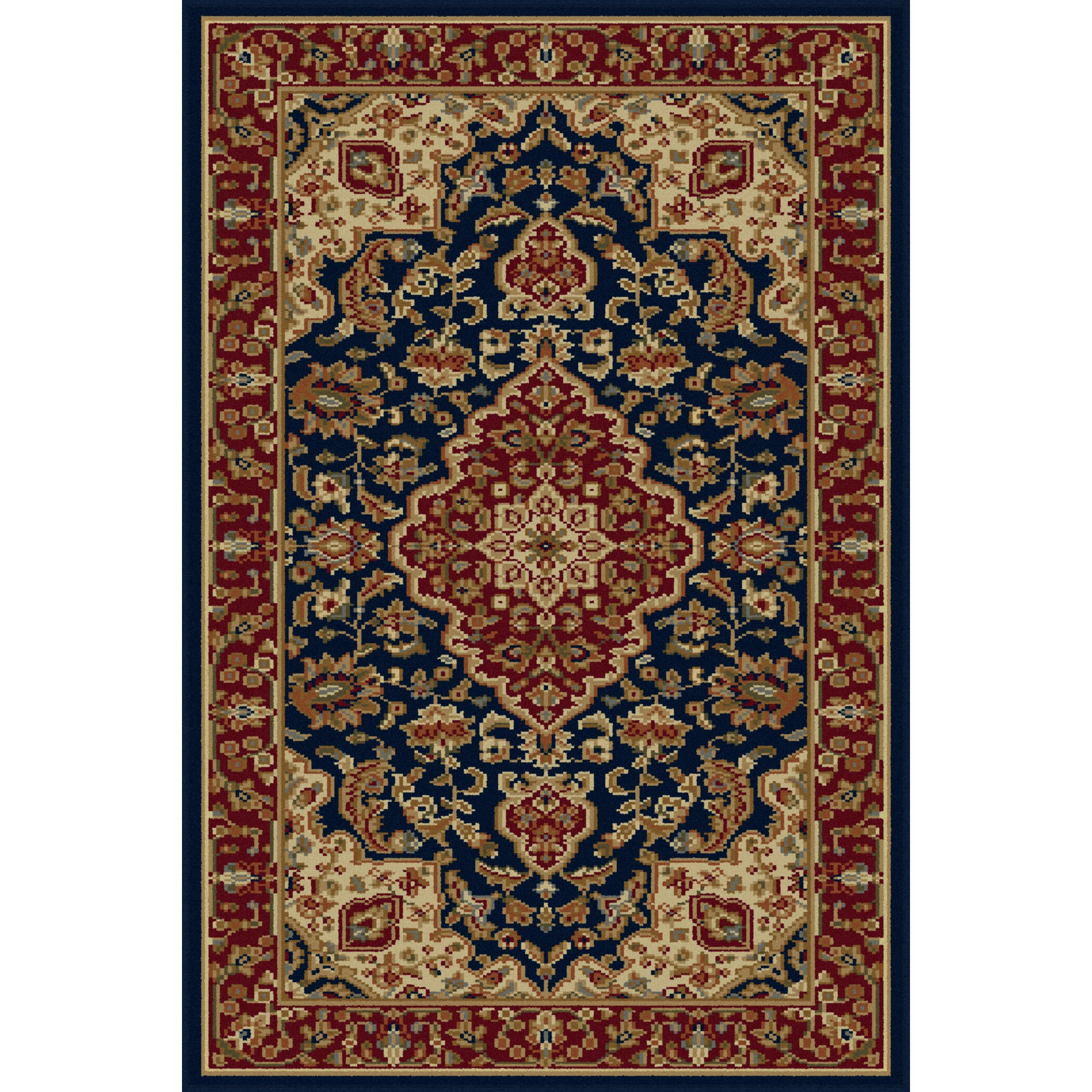 Threadbind Richmond Navy Area Rug & Reviews