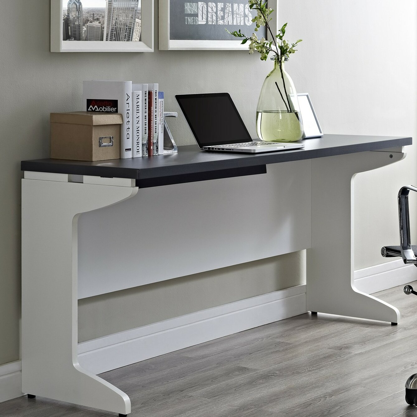 Latitude Run Elizabeth Desk Shell Reviews Wayfair