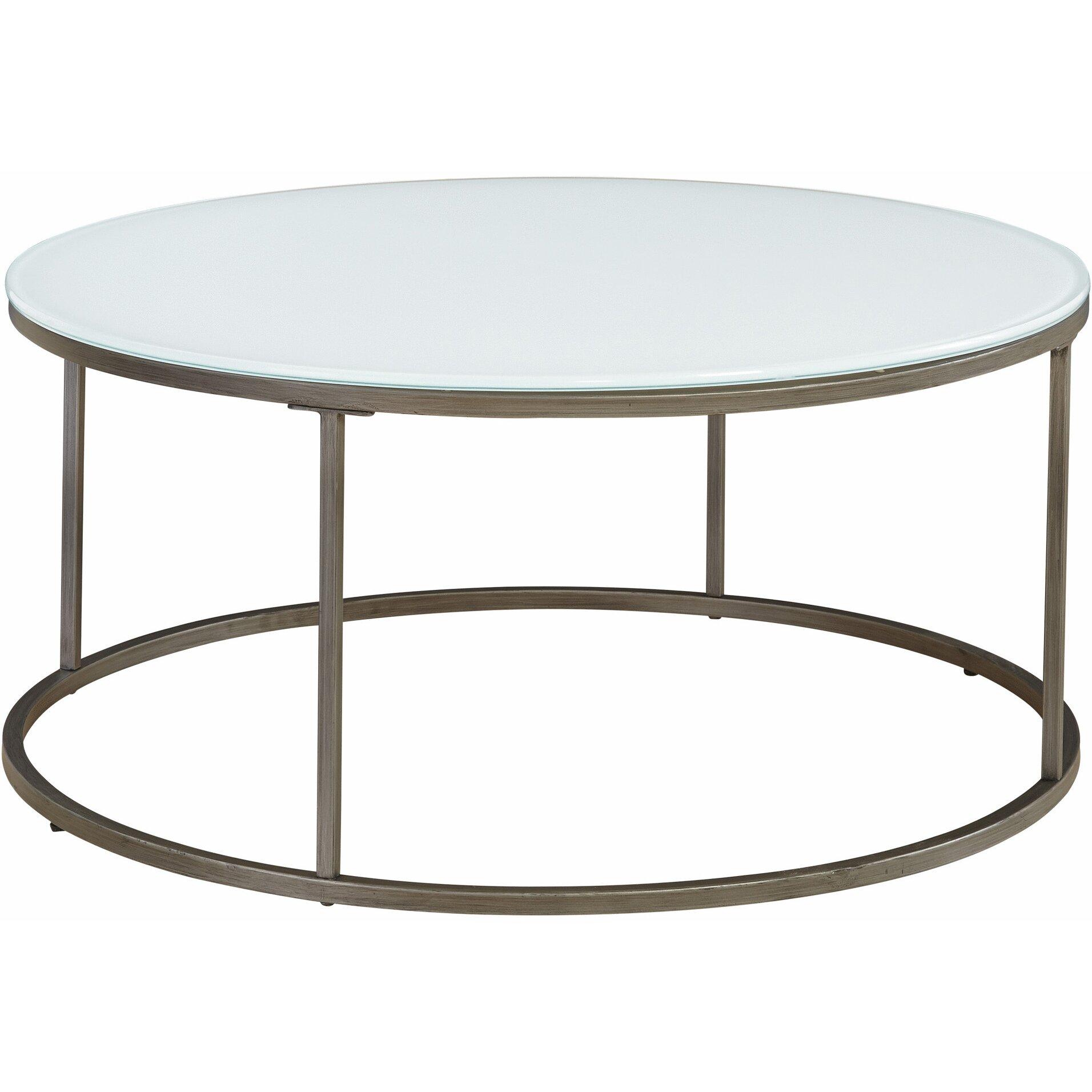 Round Table Coffee Latitude Run Alfreda Round Coffee Table Reviews Wayfair