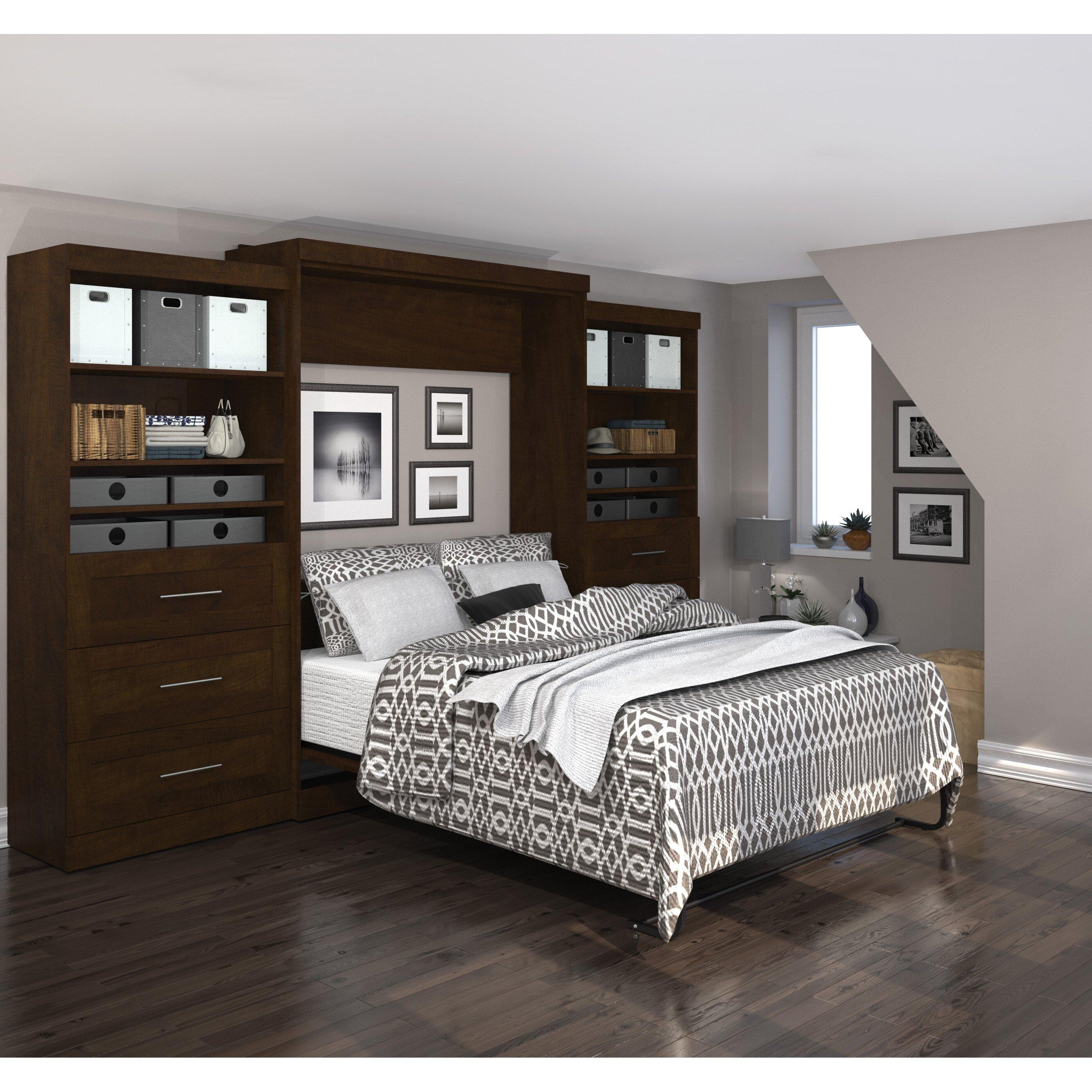 Latitude Run Sammy Queen Murphy Bed & Reviews