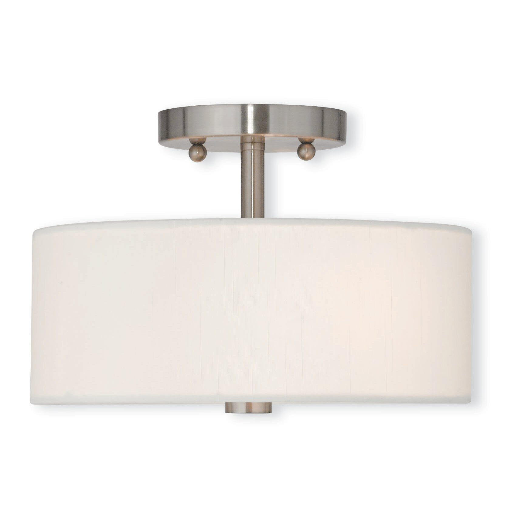 Semi Flush Mount Kitchen Lighting Latitude Run Fran 2 Light Semi Flush Mount Reviews Wayfair
