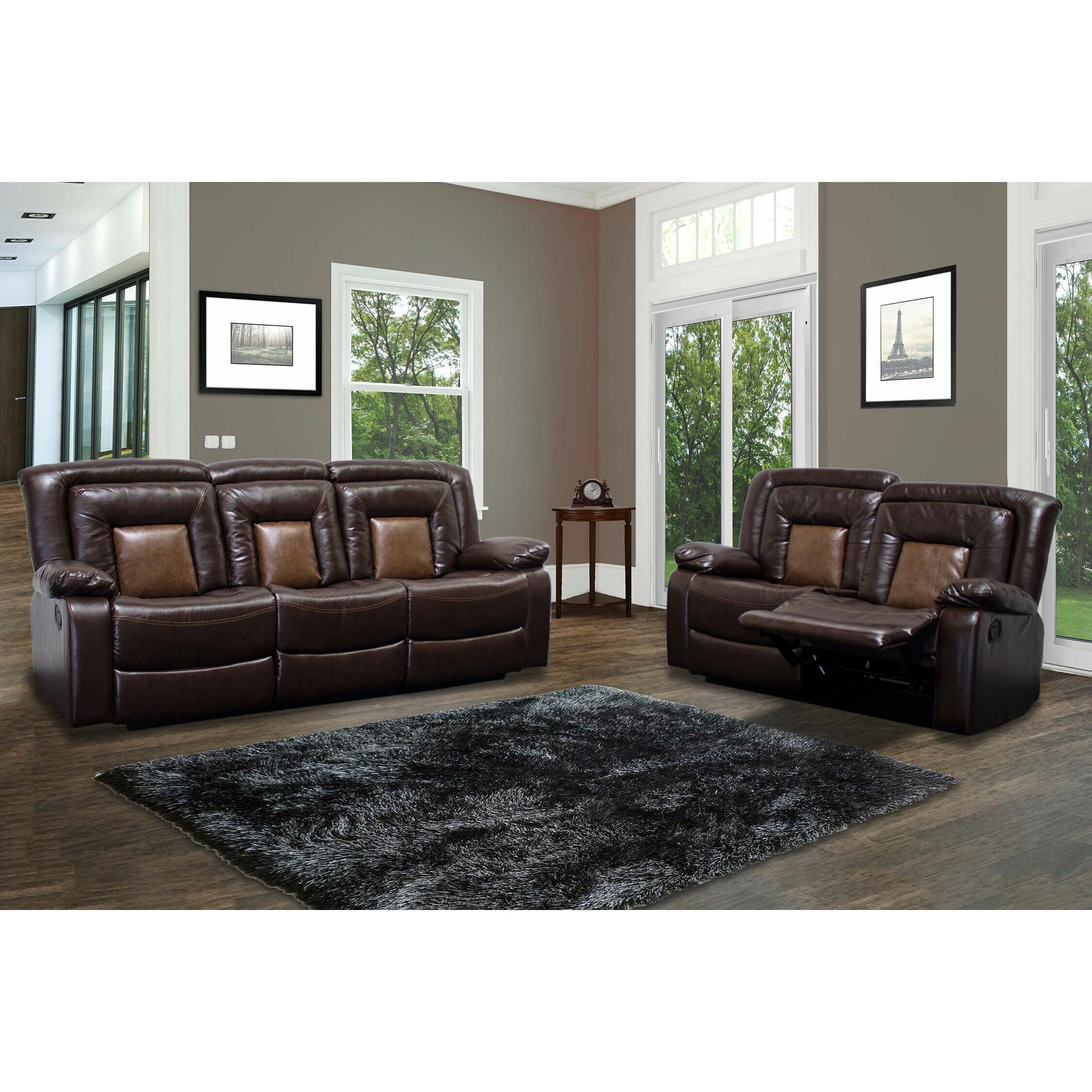 Leather Living Room Sets On Leather Living Room Sets Youll Love Wayfair