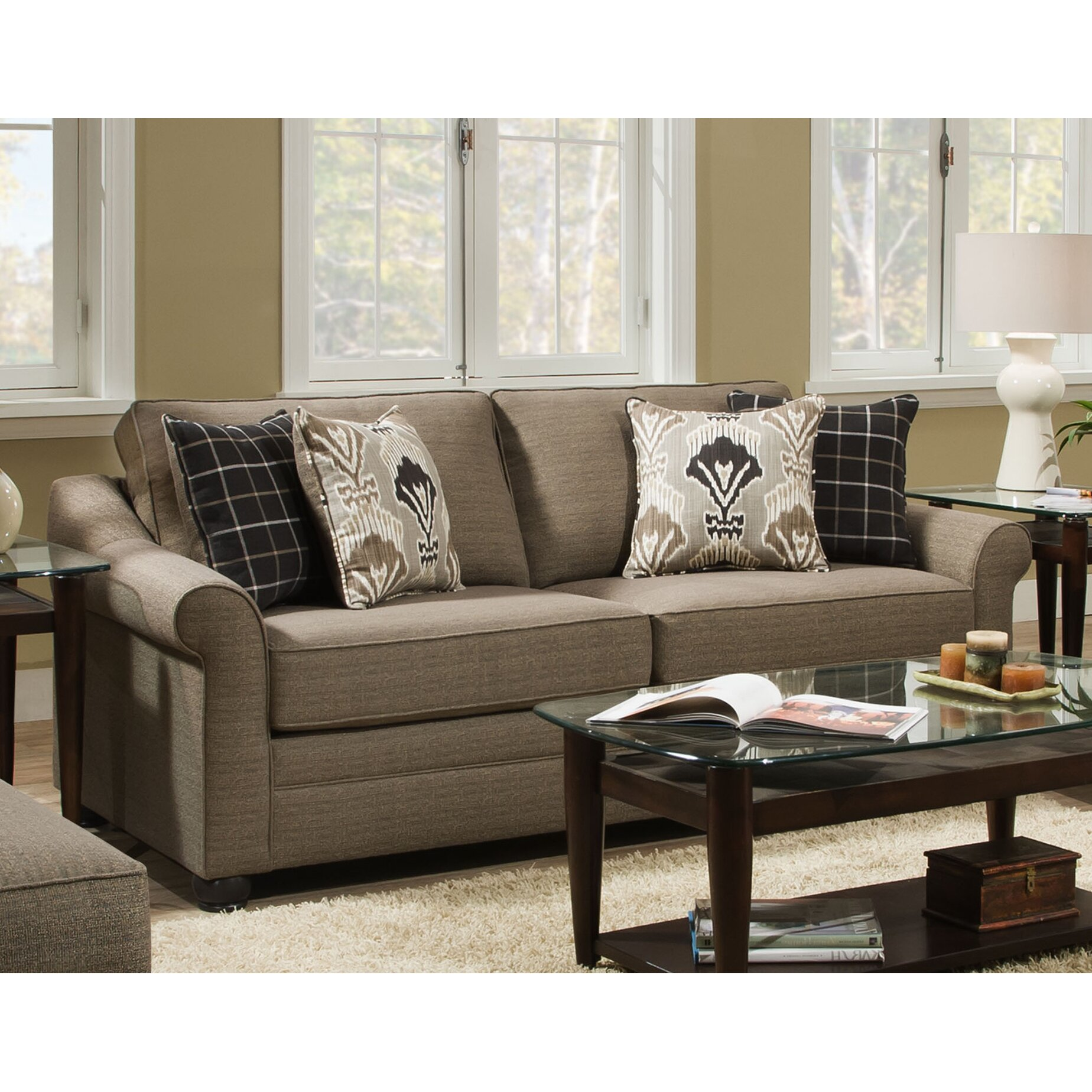 Defaultname Simmons Upholstery Dawn Sectional Sofa 2 Piece