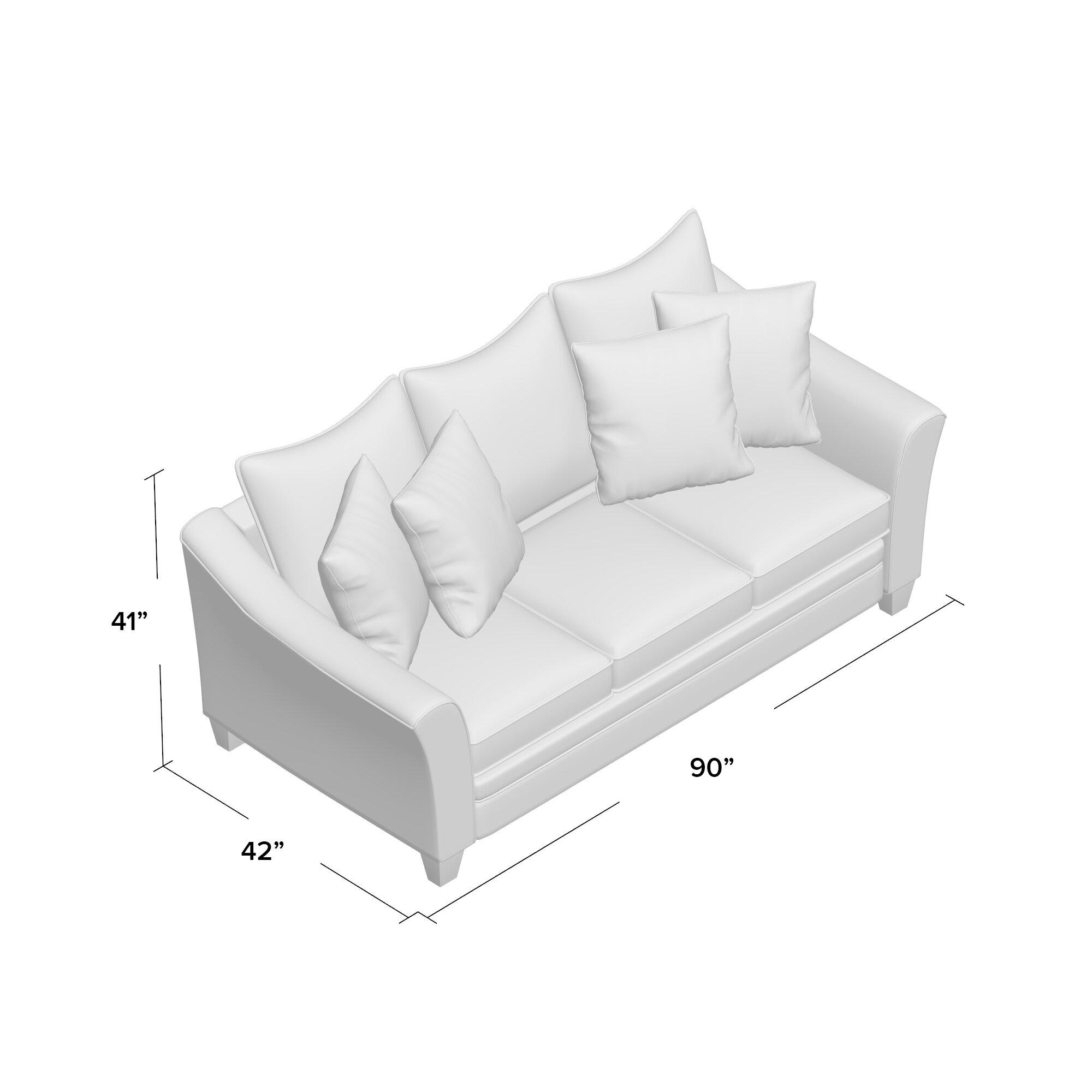 Latitude Run Simmons Upholstery Heath Sleeper Sofa Wayfair Supply .