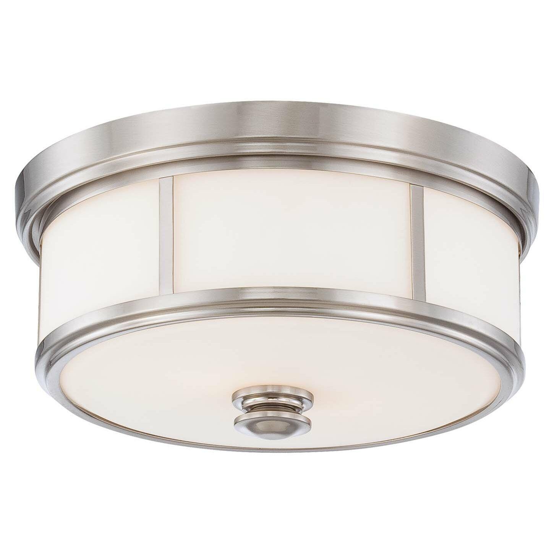 flush mounts c flush mount kitchen lighting Athens 2 Light Flush Mount