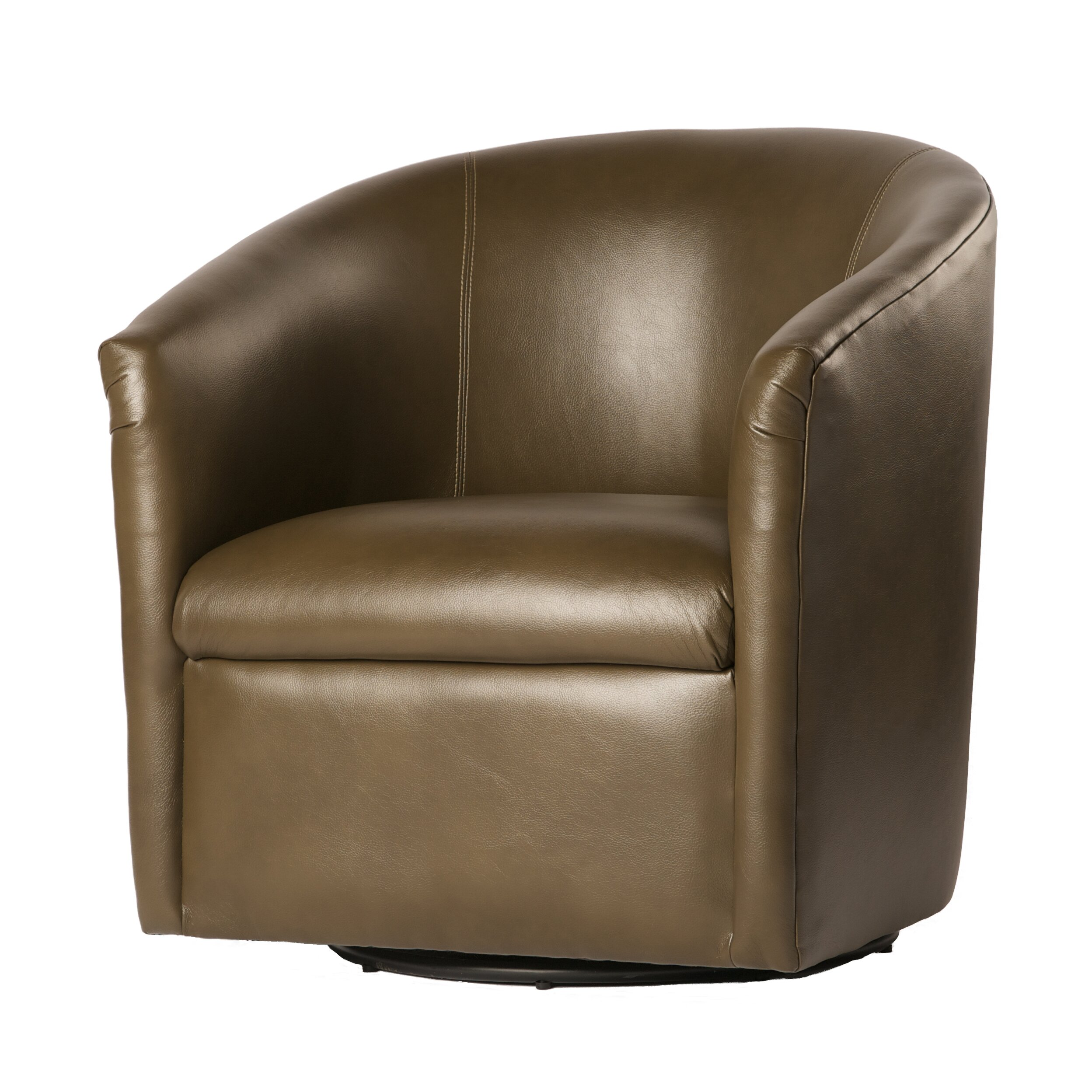 Latitude Run Garland Swivel Barrel Chair & Reviews ...