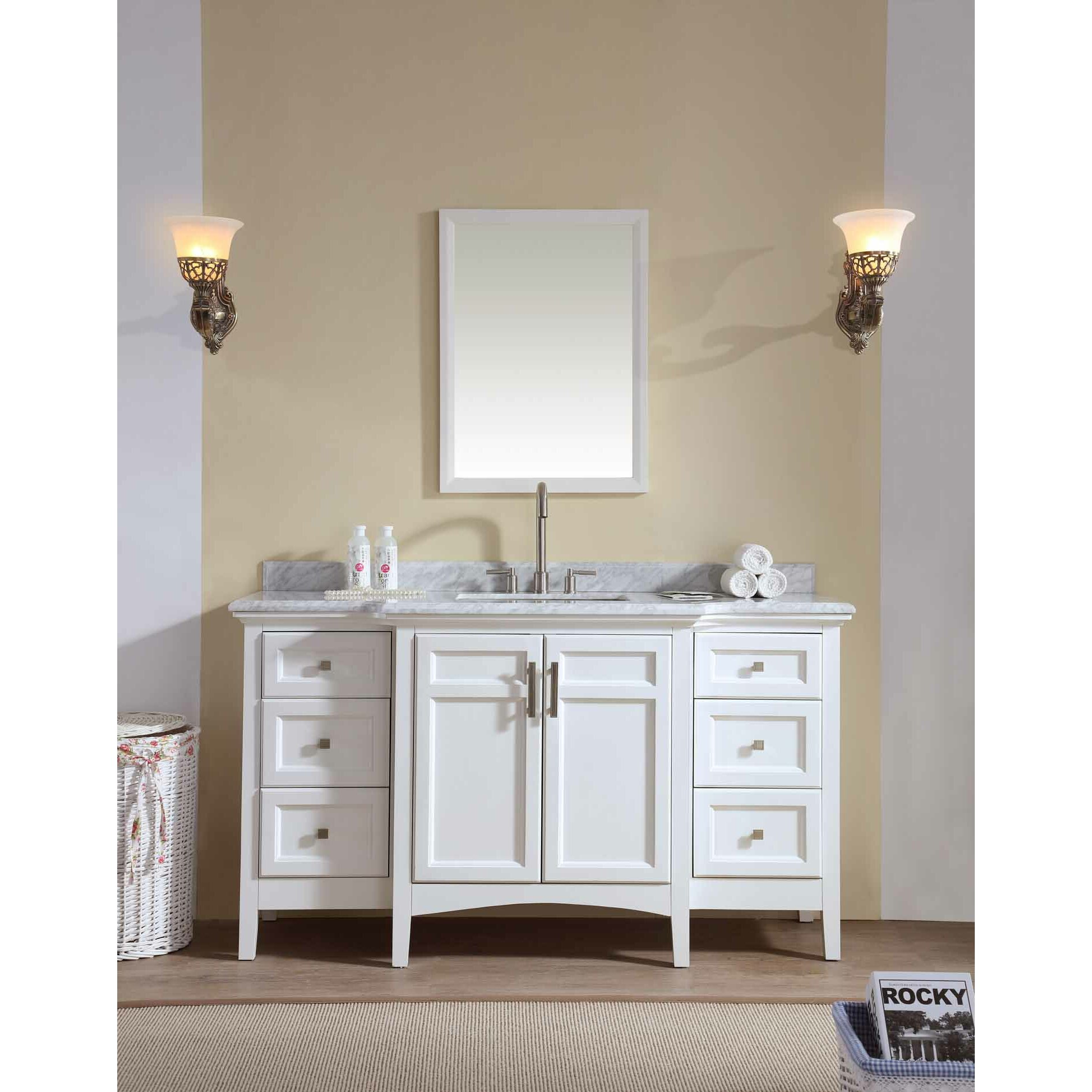 "Latitude Run Oxford Luz 60"" Single Bathroom Vanity Set ..."