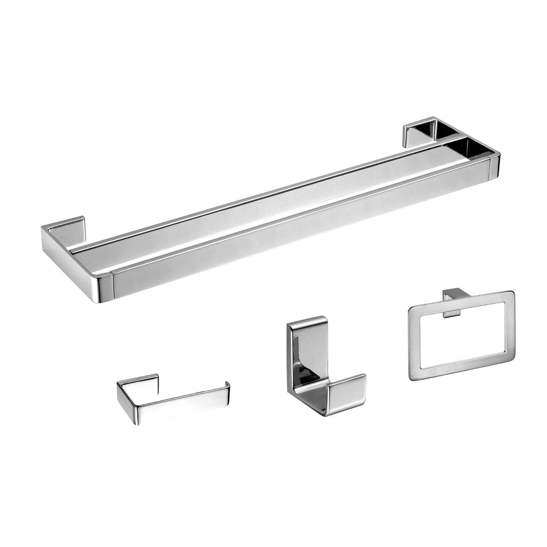 gala 4 piece bathroom hardware set & reviews   allmodern