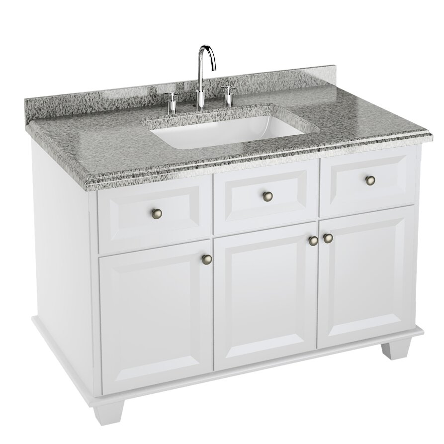 42 Bathroom Vanity Ancona 42 Single Majestic Bathroom Vanity Set Wayfair