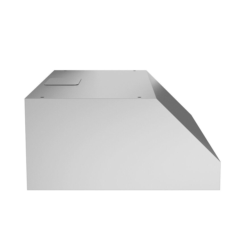 Ancona Slim 30 Under Cabinet Range Hood Installation - Monsterlune