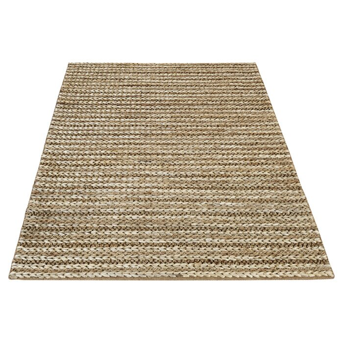 Three Posts Old Farm Hand-Woven Taupe Area Rug & Reviews
