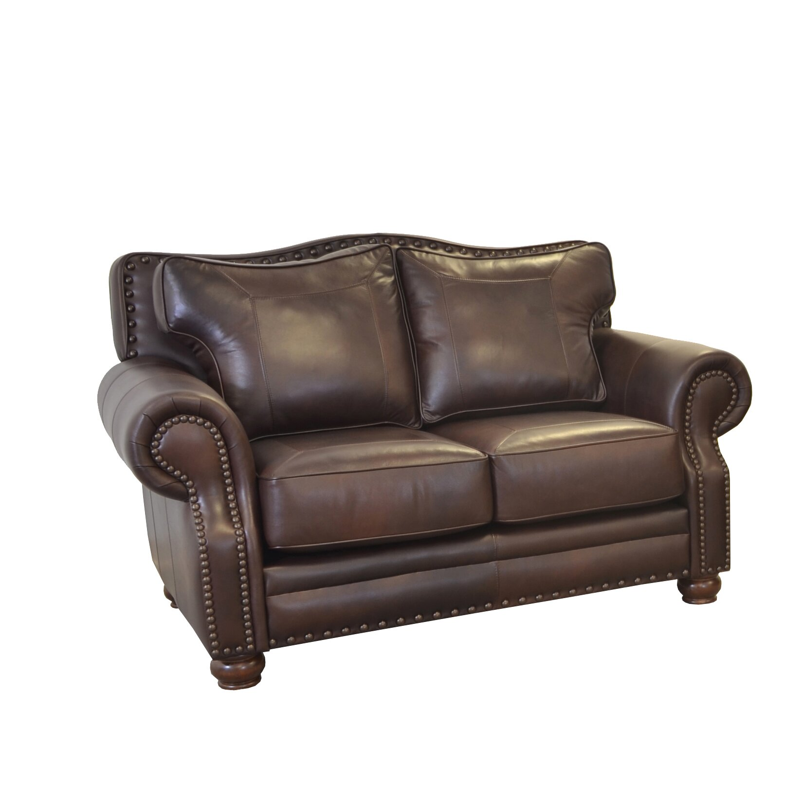 Genuine Leather Sectional Sofa Canada: Westland And Birch Westford Genuine Top Grain Leather Sofa