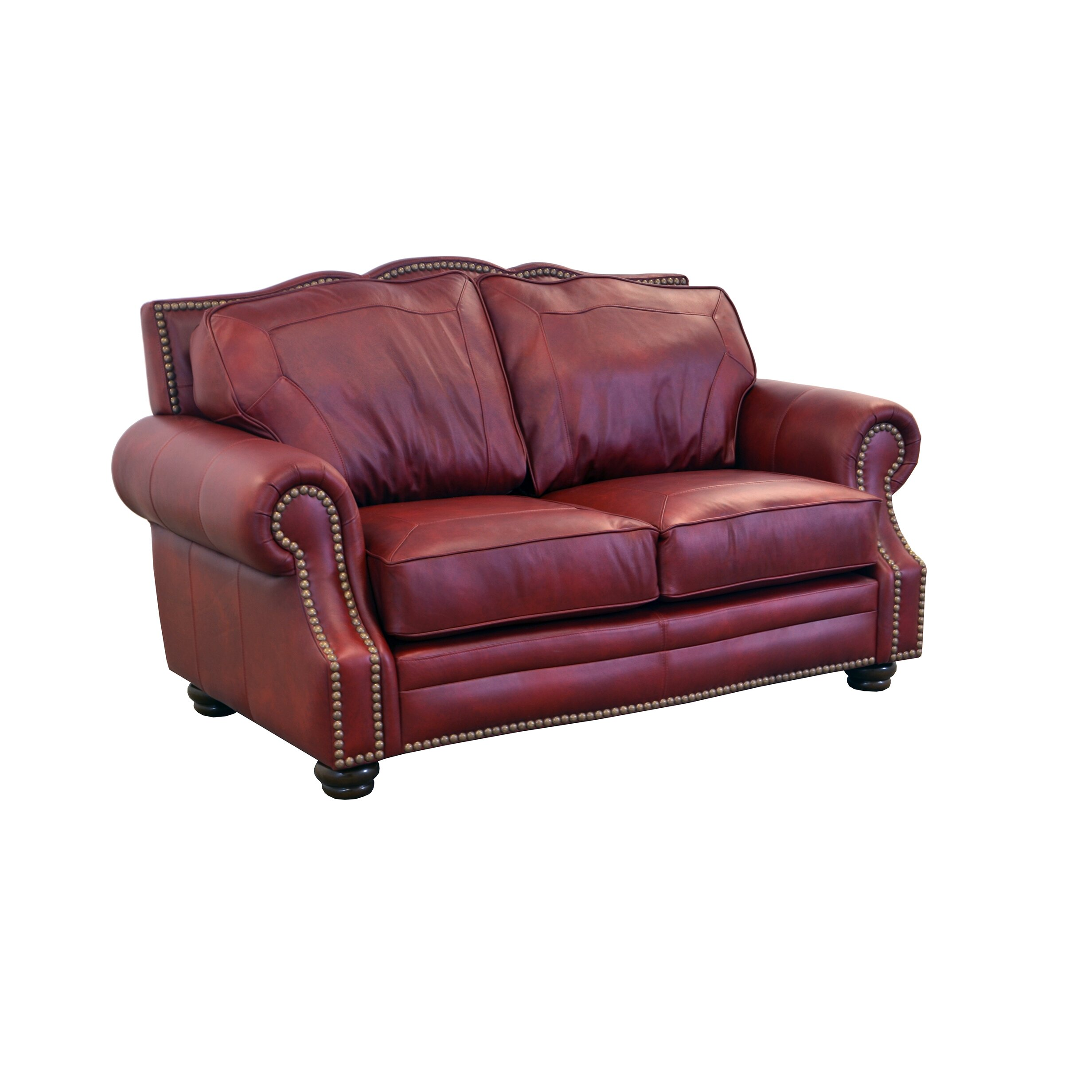 Genuine Leather Sectional Sofa Canada: Westland And Birch Winchester Genuine Top Grain Leather