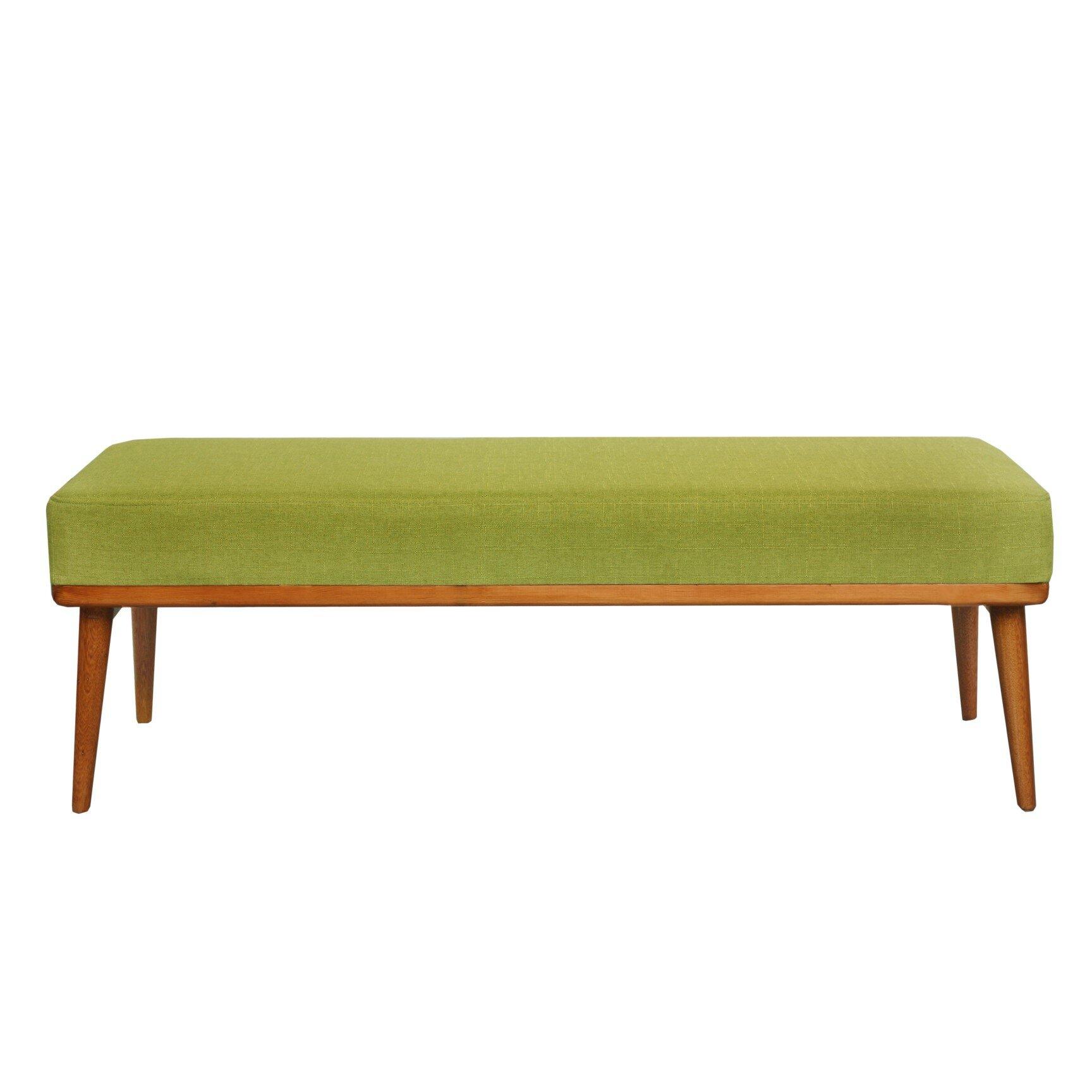 Padded Bench For Bedroom Vivienne Upholstered Bedroom Bench Reviews Allmodern