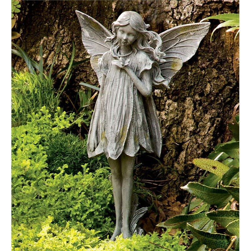 Wind Weather Fairy Garden Statue Reviews Wayfair