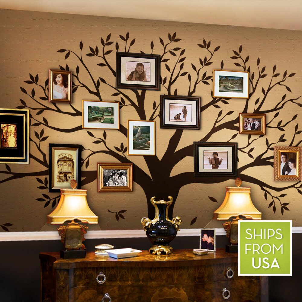 trees and flower wall decals you'll love | wayfair