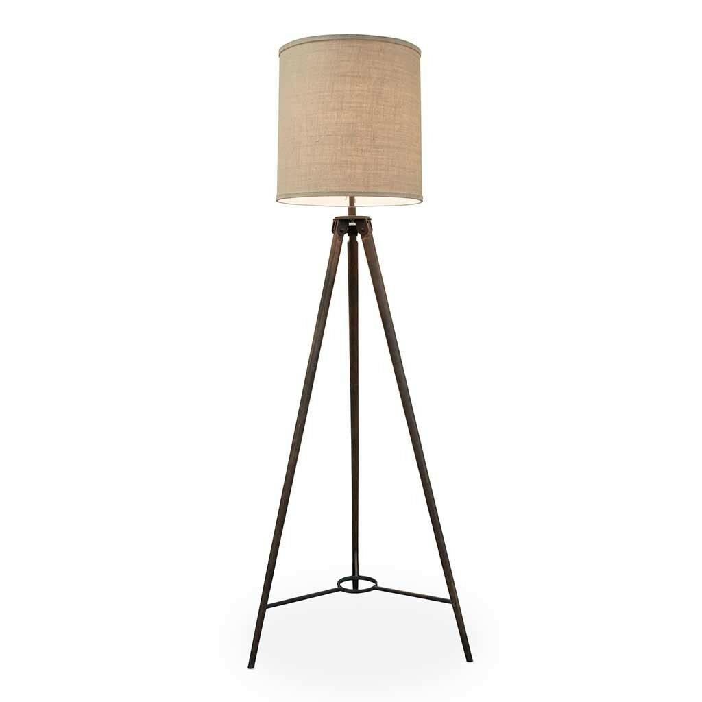 Urbanhomeindustrial jackson 68 tripod floor lamp for Wayfair industrial lamp