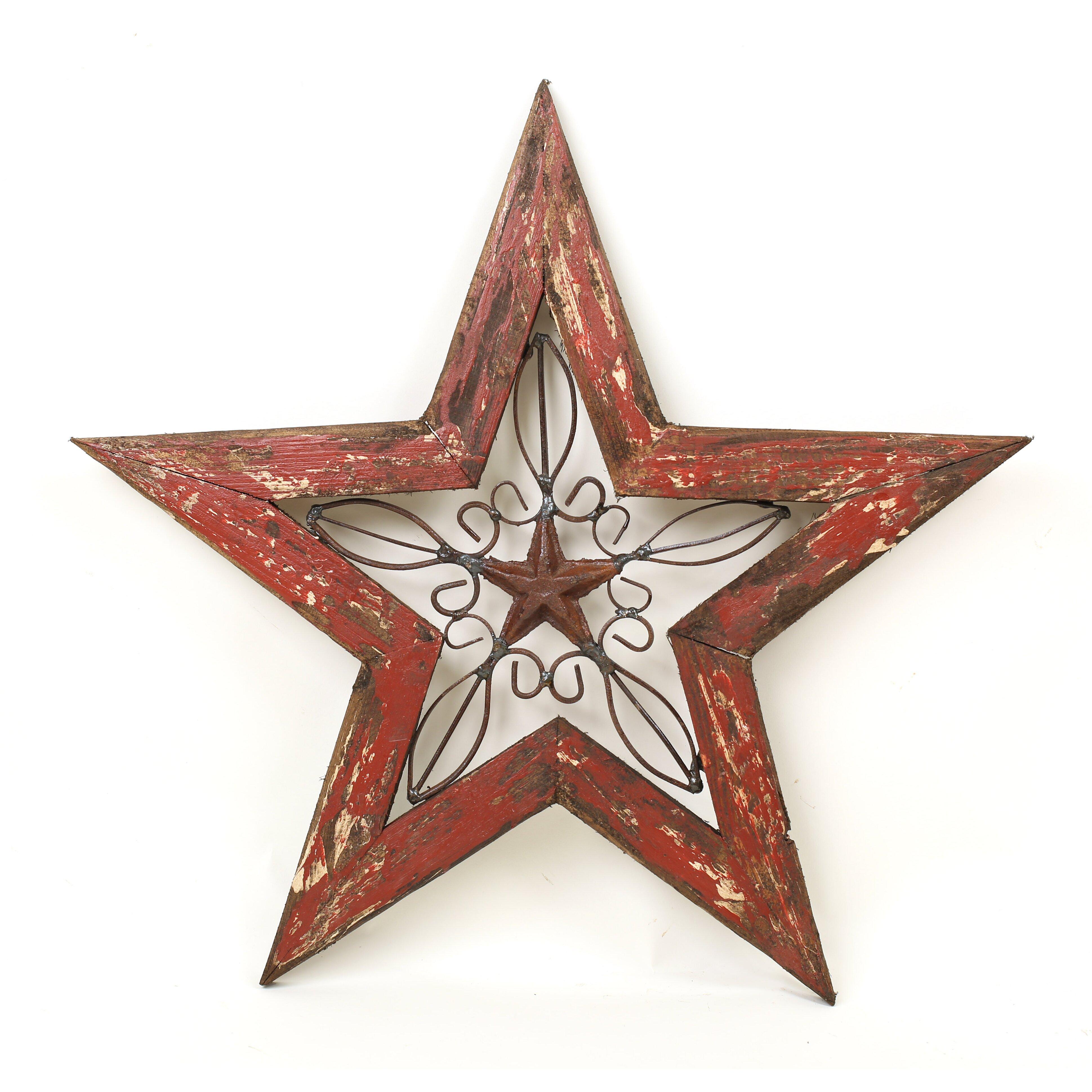 Glass Star Wall Decor : Myamigosimports texas star wall decor reviews wayfair