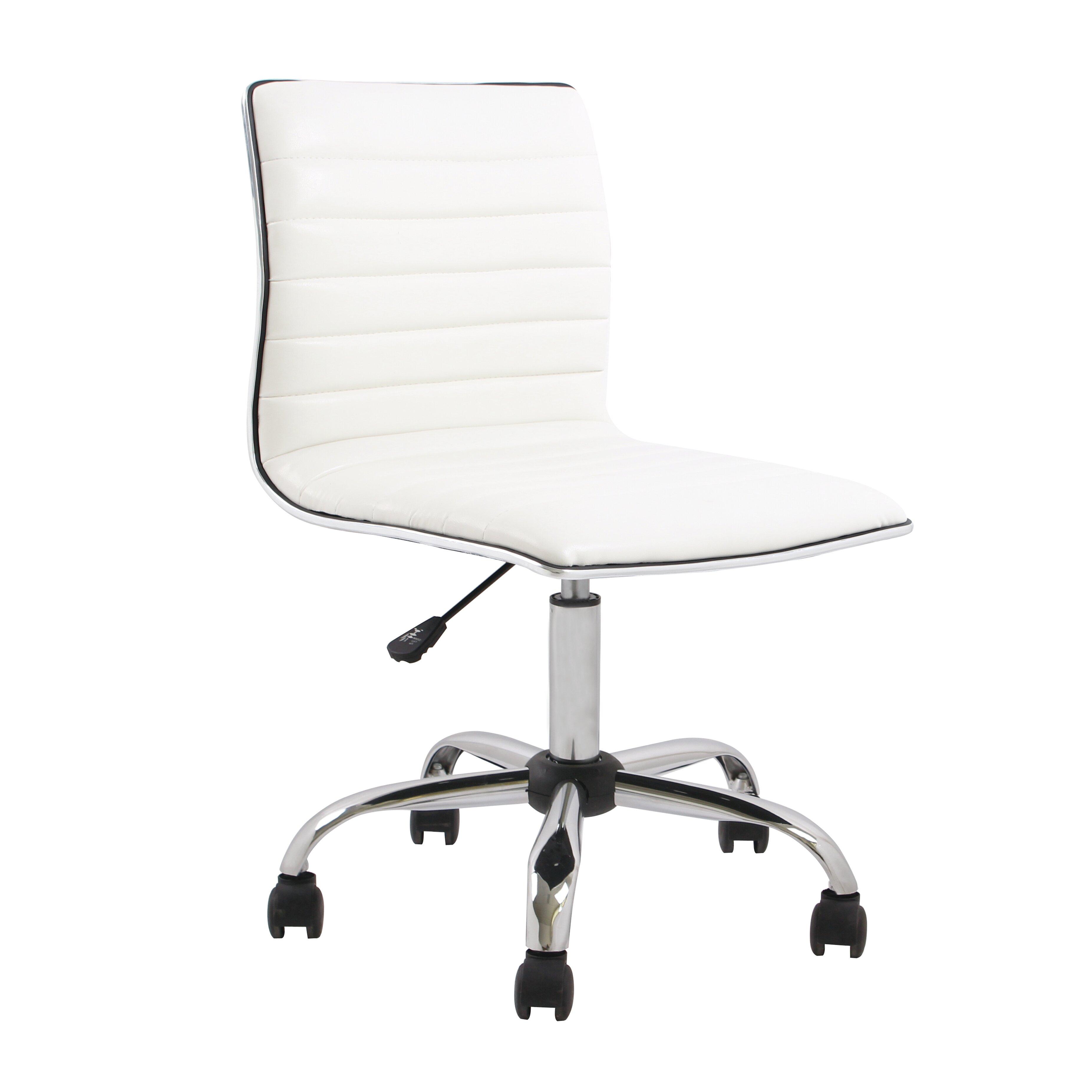FamisCorp Mid Back Desk Chair Reviews Wayfair
