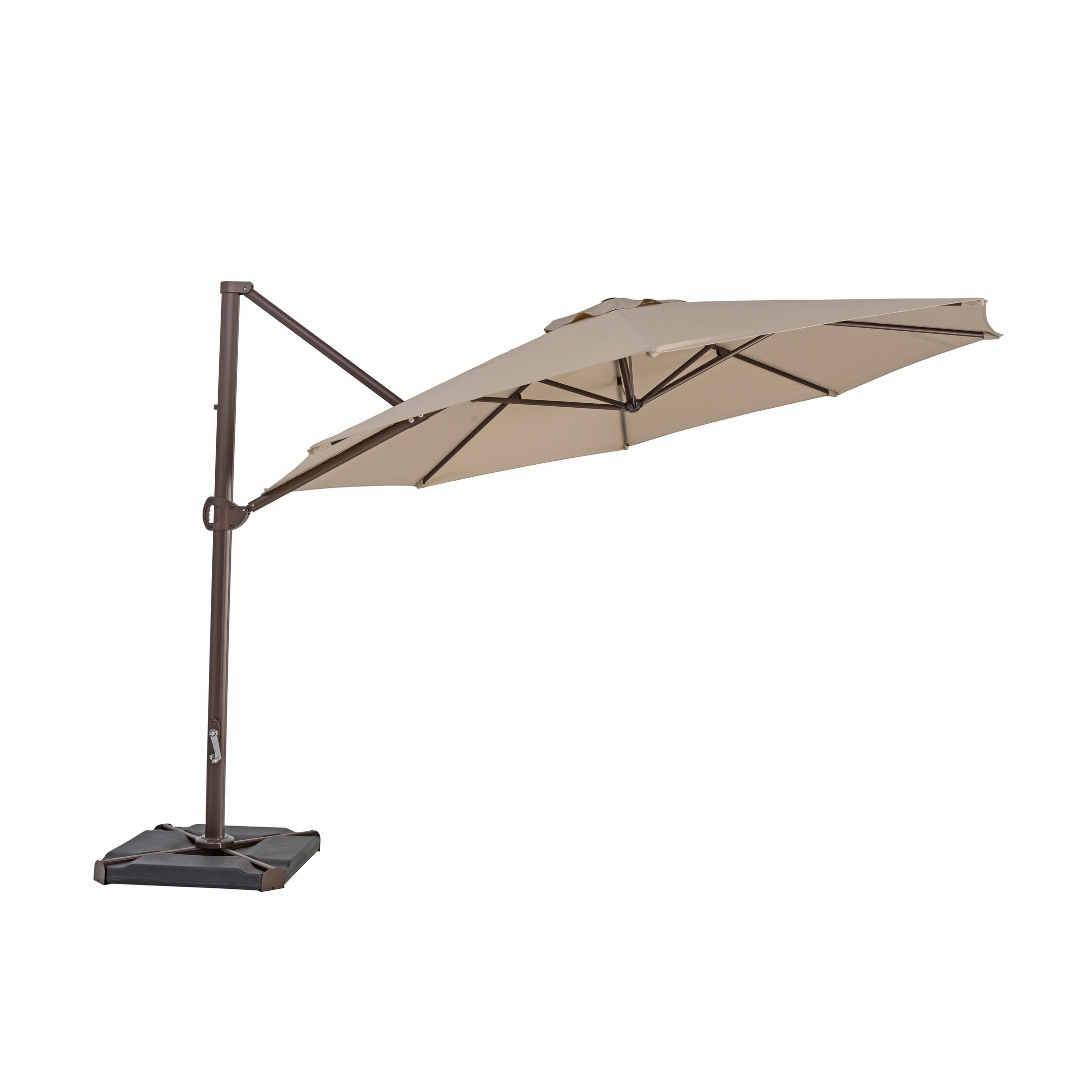 square treasure cozy garden outdoor room patio dining umbrella design cantilever unique for ft deck costco