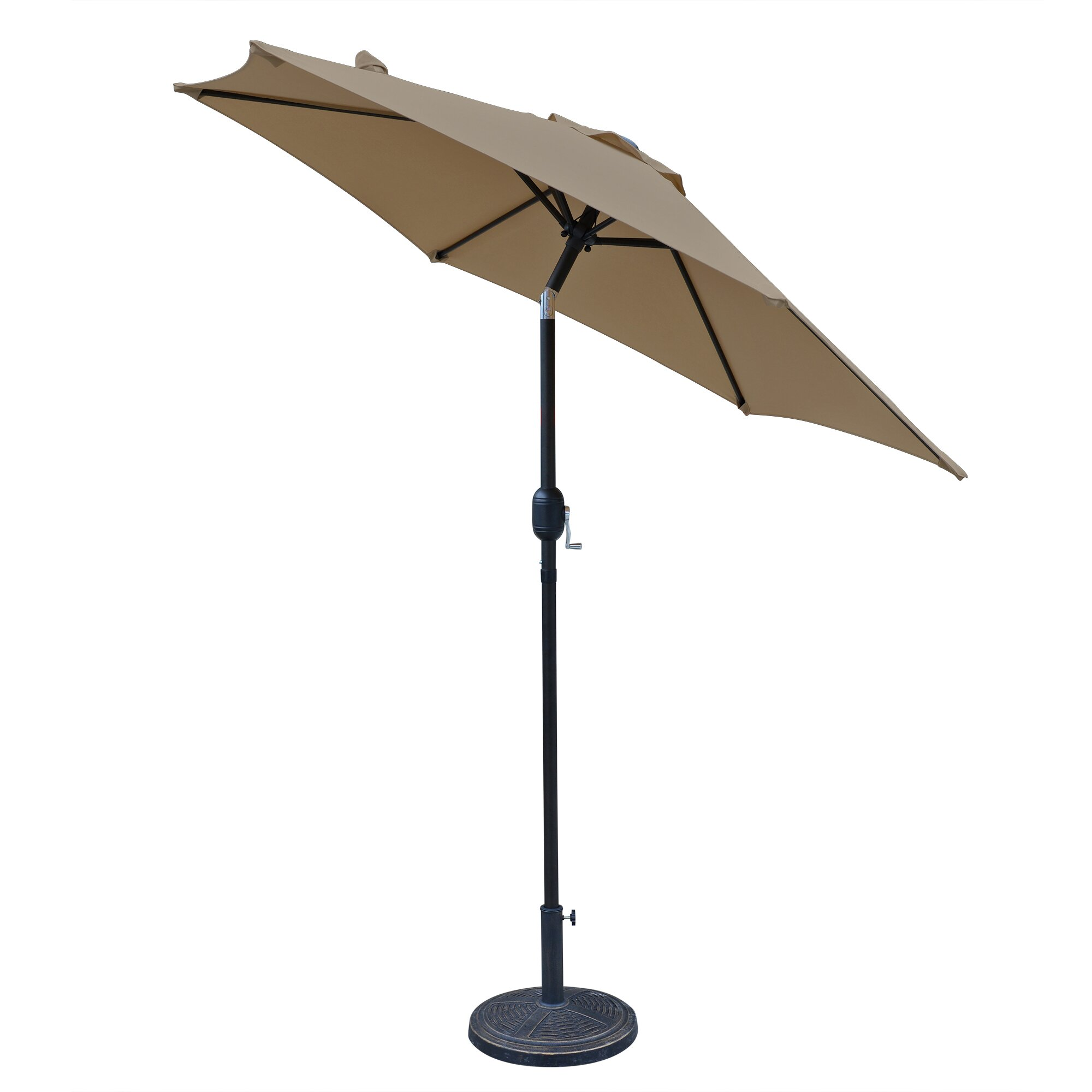 Island Umbrella 7 5 Ft Bistro Market Umbrella Wayfair Ca